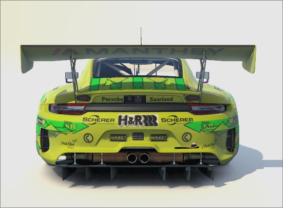 Preview of Grello Manthey Racing Porsche 24h Nürburgring winner 2021 by Gabriel Streitmatter