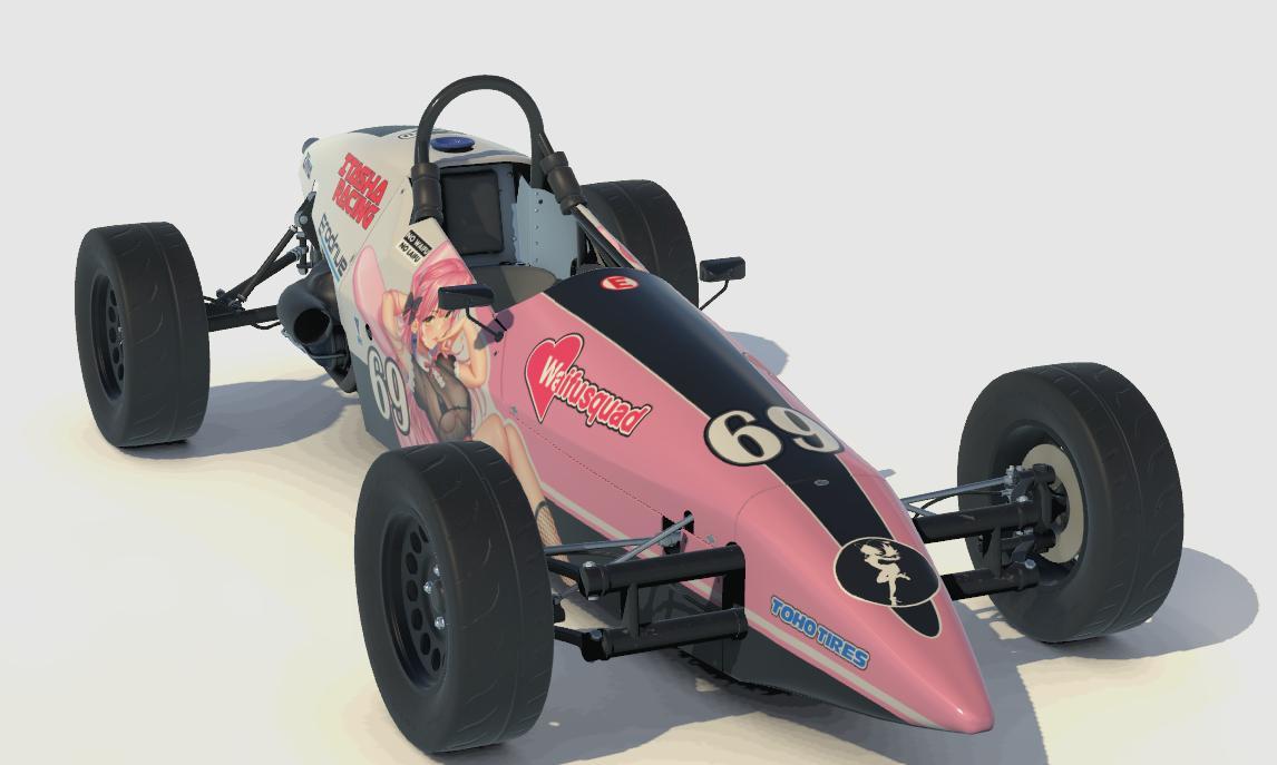 Preview of Itasha Racing Formula Vee by Brandon Dollar