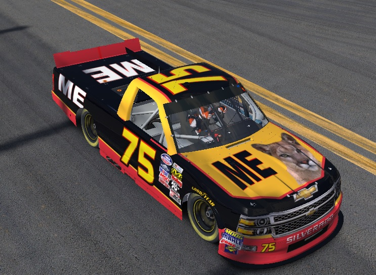 """Ricky Bobby """"ME"""" Truck by Johnny Smith - Trading Paints"""