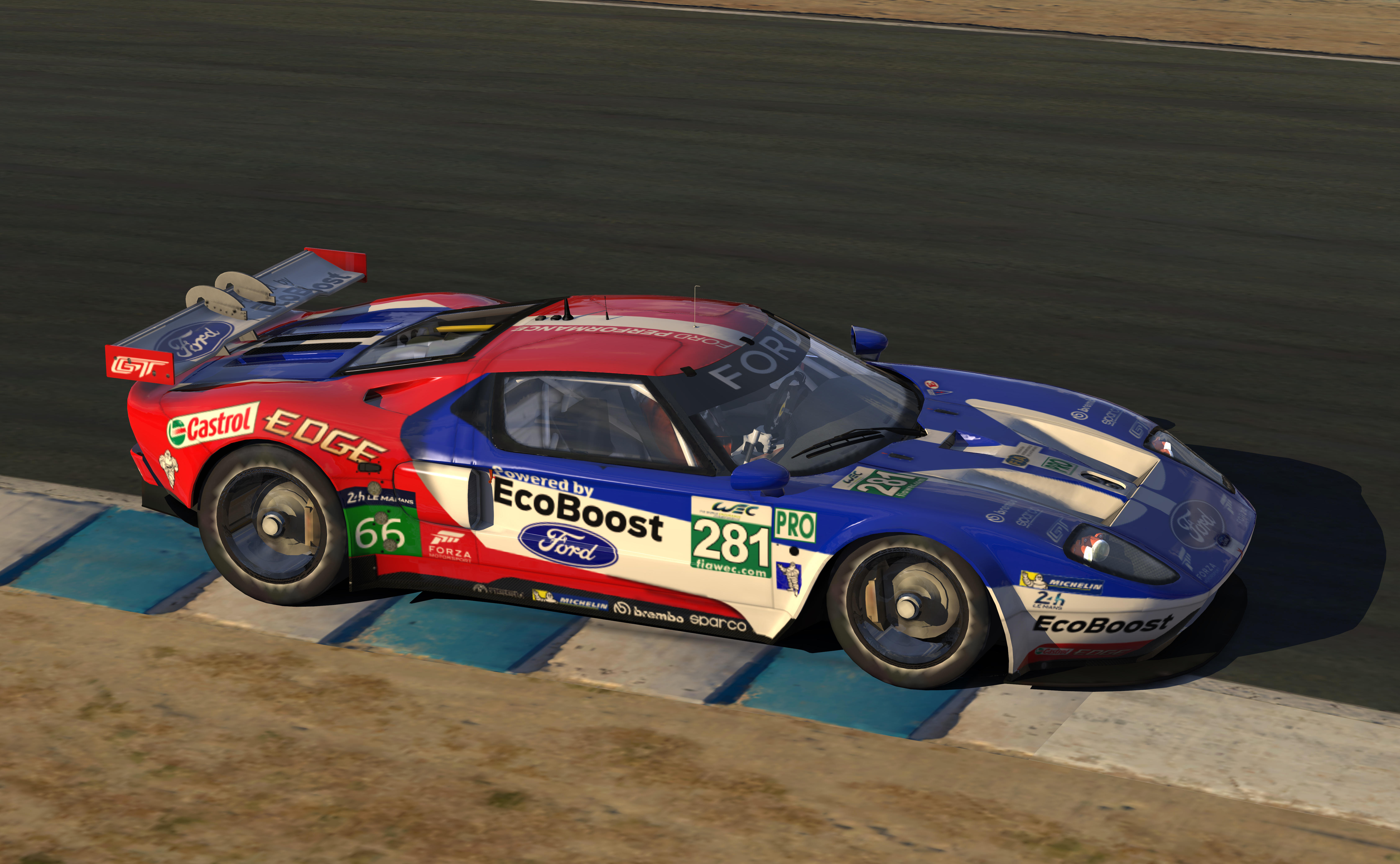 2016 ford gt le mans pro livery by warren mcgary trading paints. Black Bedroom Furniture Sets. Home Design Ideas