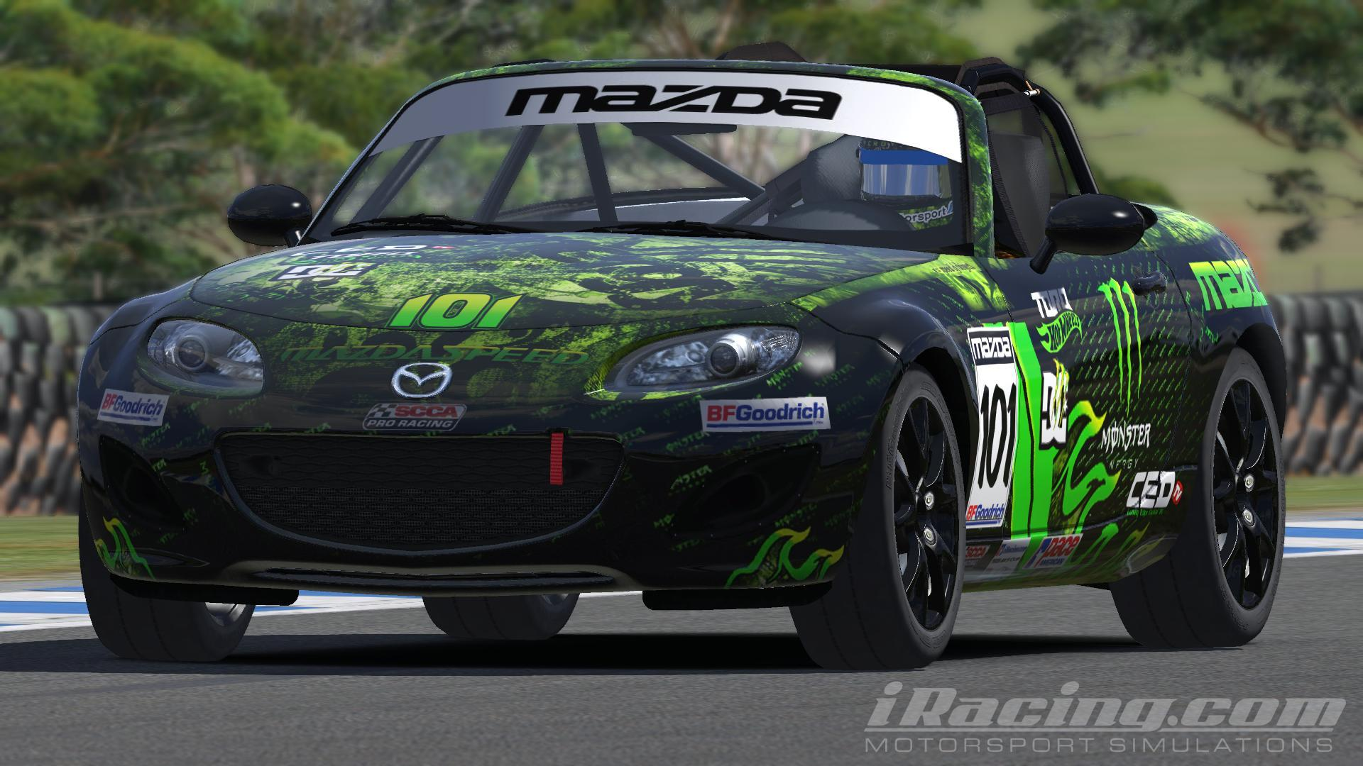 monster energy mazda cup circa 2015 by marshall w. Black Bedroom Furniture Sets. Home Design Ideas