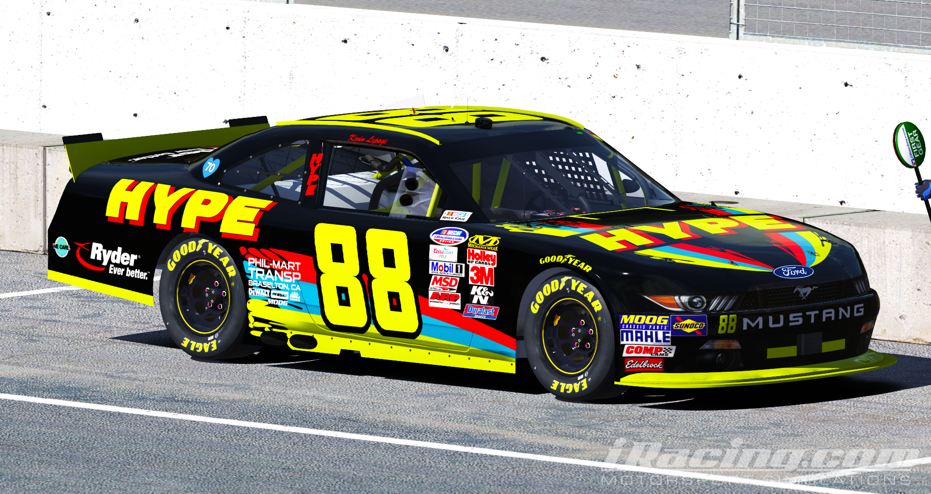 1997 Kevin Lepage Hype Energy Drink Mustang By Ryan A Williams