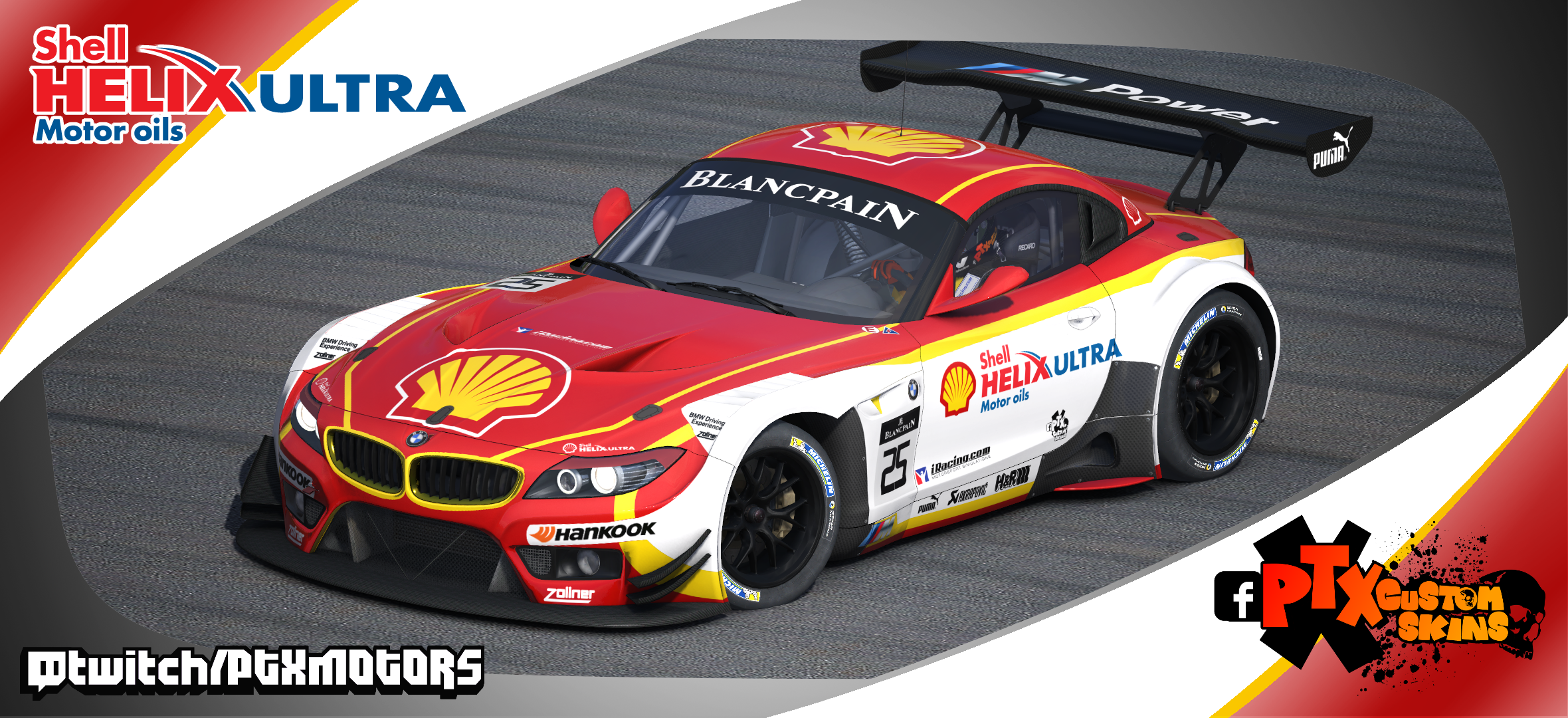 Shell Dtm Livery Bmw Z4 Gt3 By Samuel Almeida Trading Paints