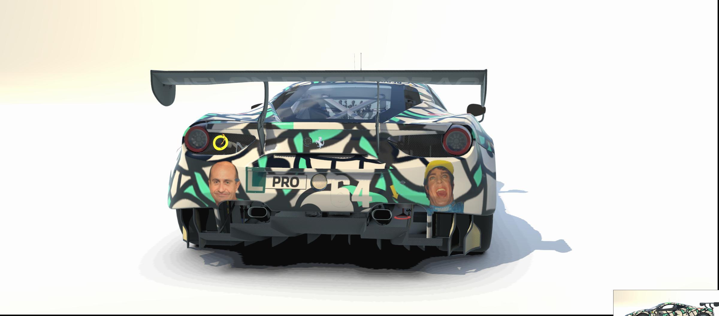 Preview of Ferrari EVO GT3 - Forocoches :roto2: Edition by Marco Antonio Lopez Salgado2