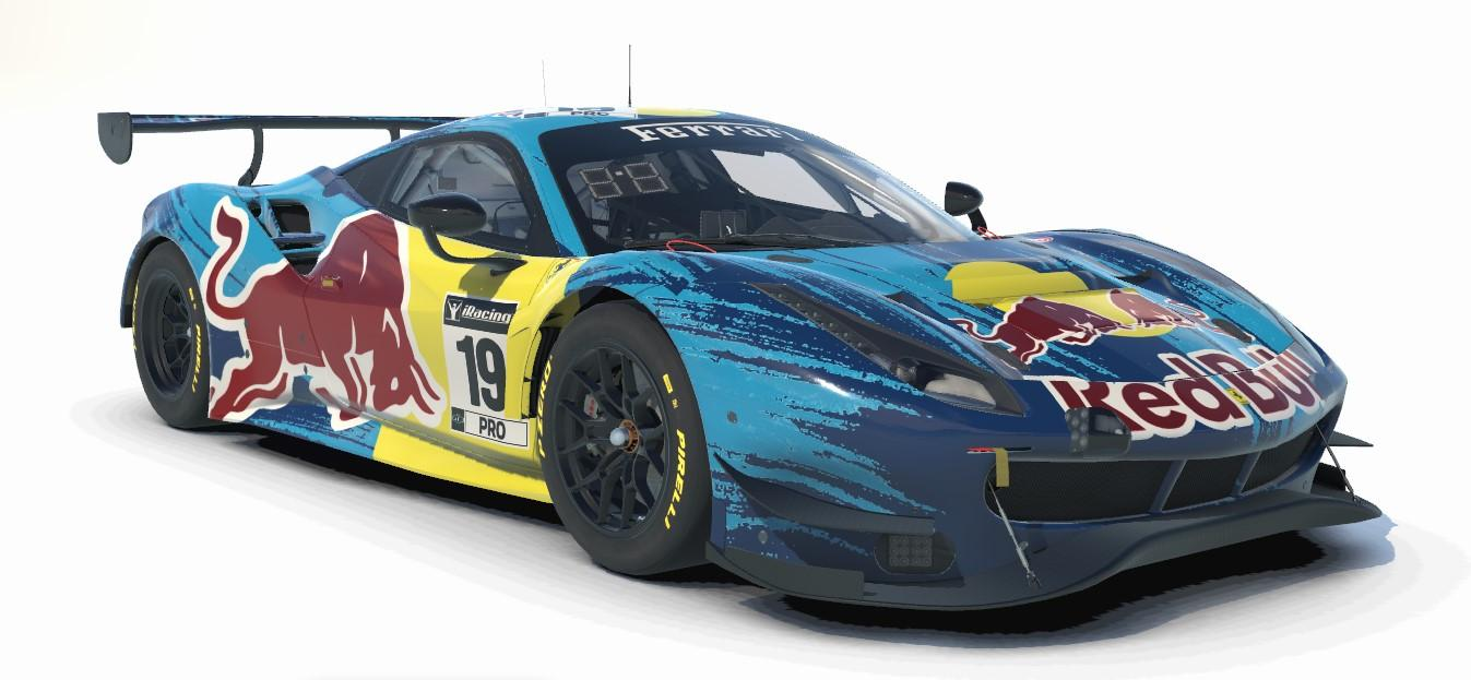 Preview of Red Bull Ferrari GT3 EVO DTM by Michael Knight3