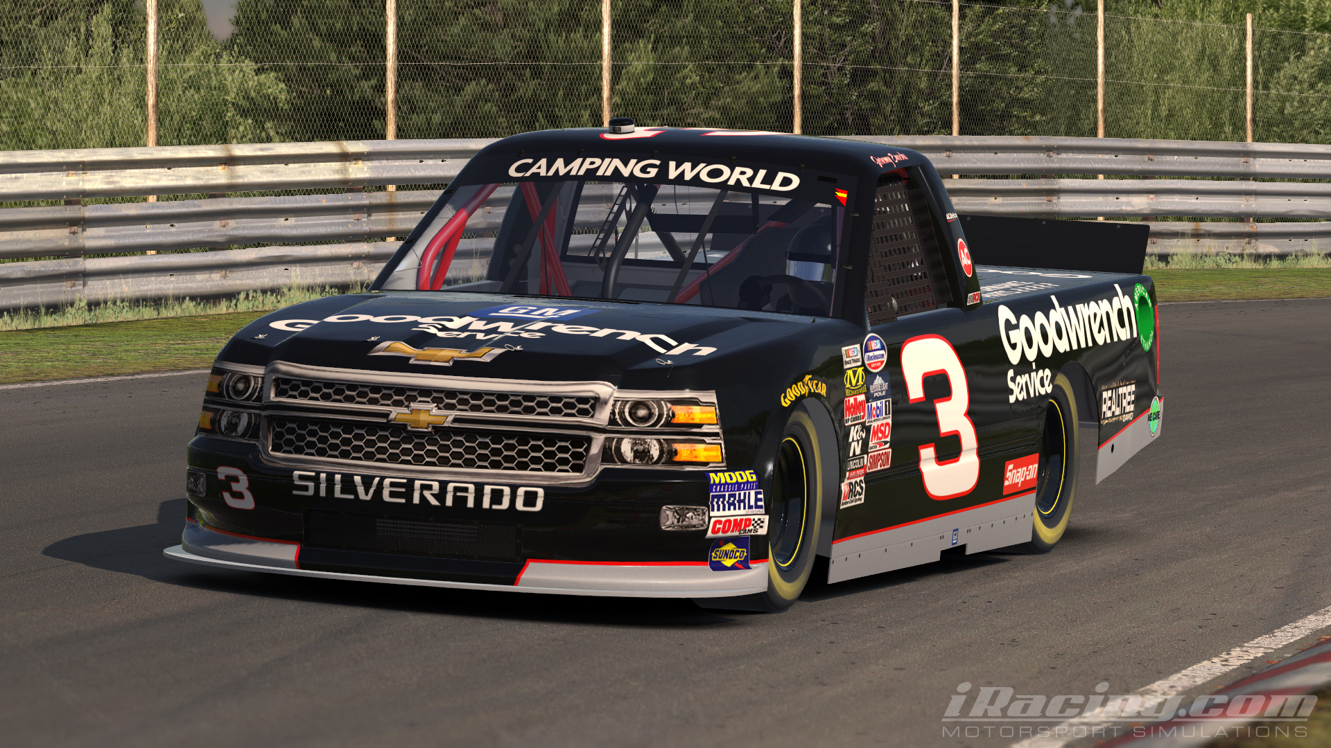 97 GM Goodwrench Truck by Jeremy E. - Trading Paints