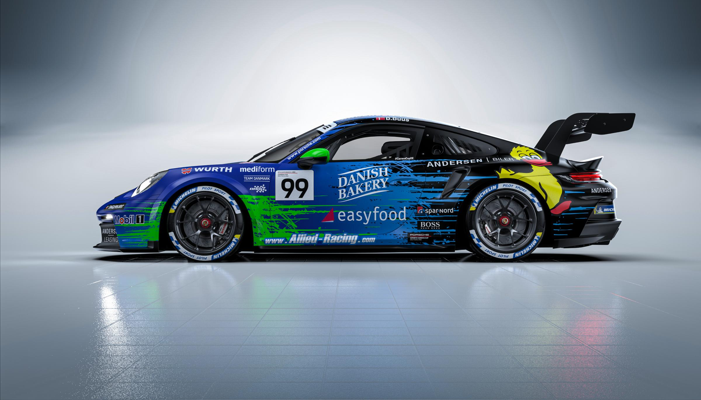 Preview of Bastian Buus | Allied-Racing | Porsche Carrera Cup Deutschland by Krisztián Kónya