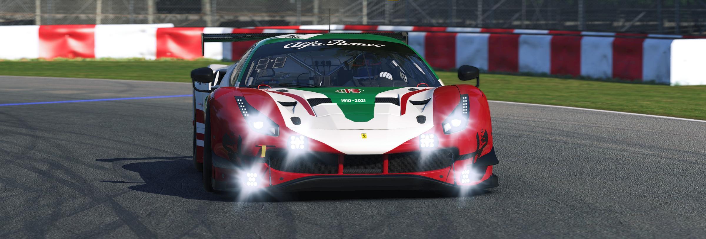 Preview of Alfa Romeo 111th Anniversary 488 GT3 Evo by Matthew A Tomelleri
