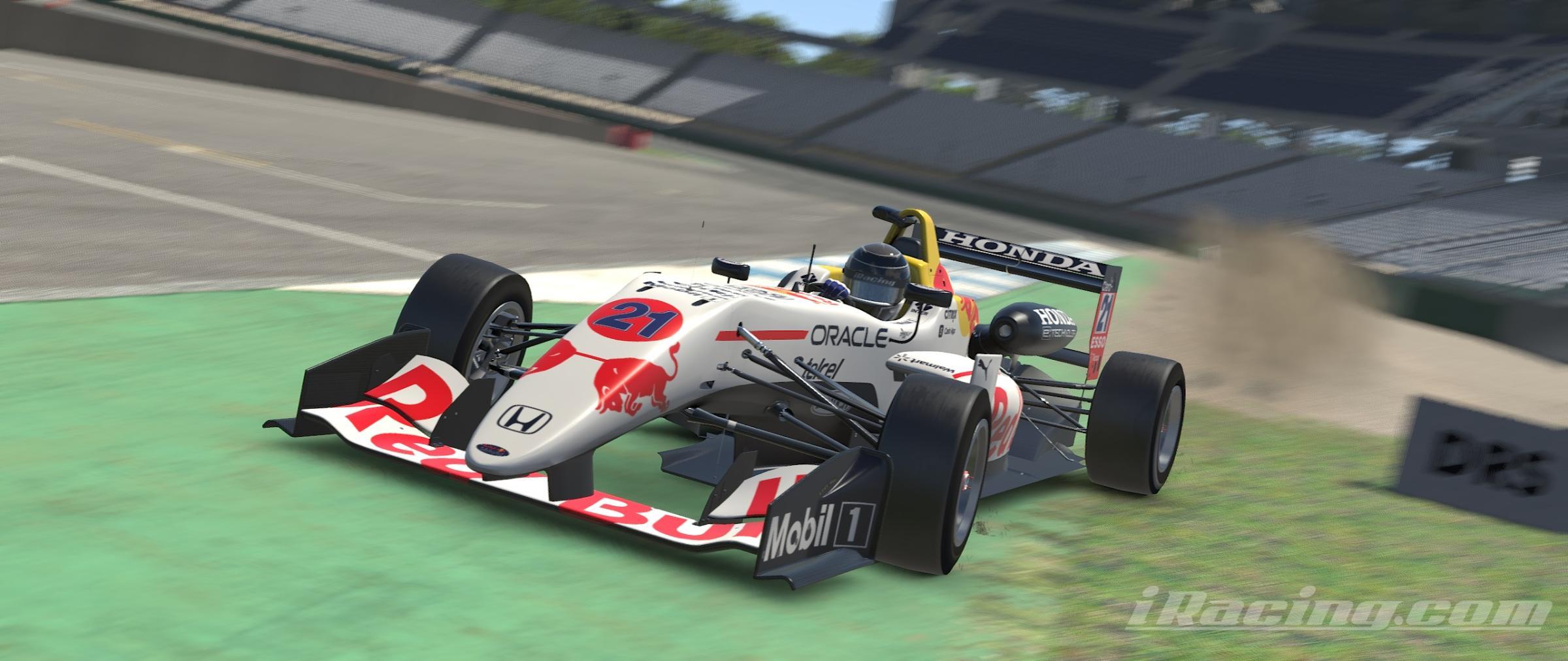 Preview of Red Bull Racing Honda RB16B White Edition / F3 by Noriyuki Mizuno