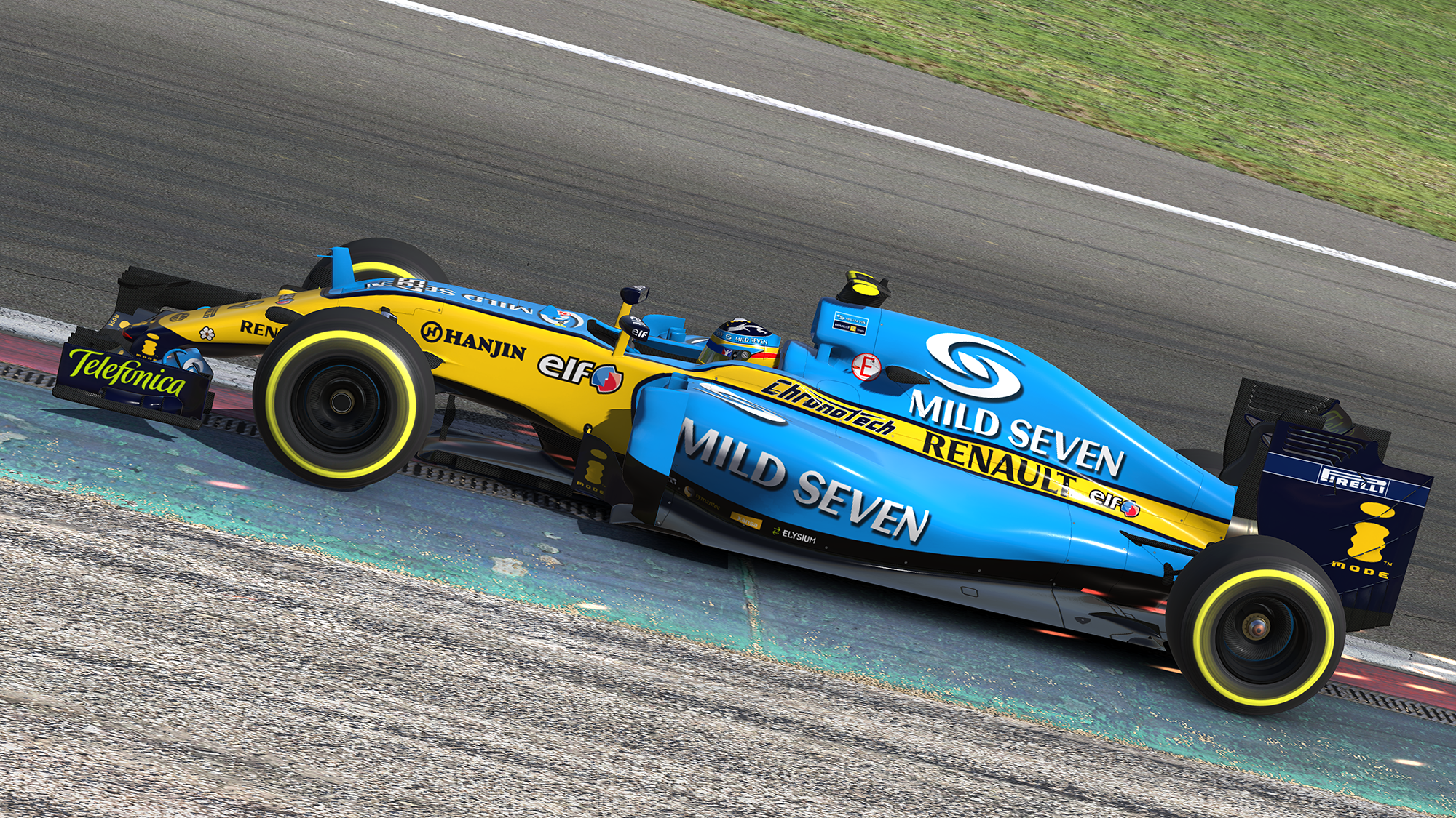 Preview of 2006 F1 Renault R26 by Mike Owen
