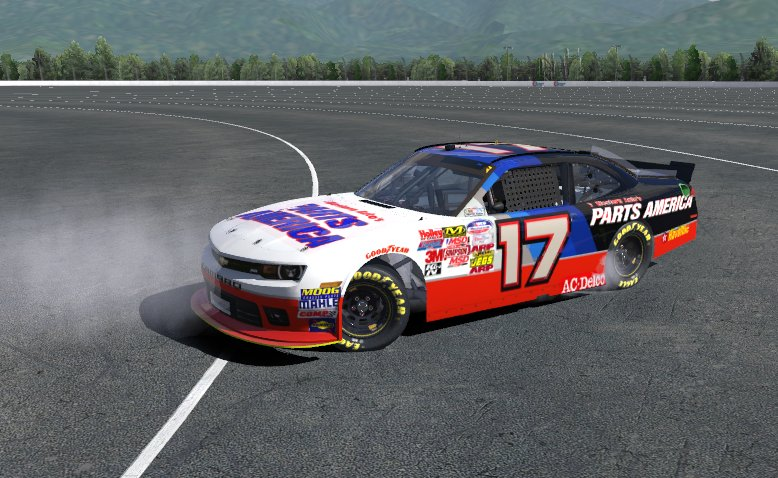 Mountain View Chevrolet >> Darrell Waltrip Throwback by Josh Johnson - Trading Paints