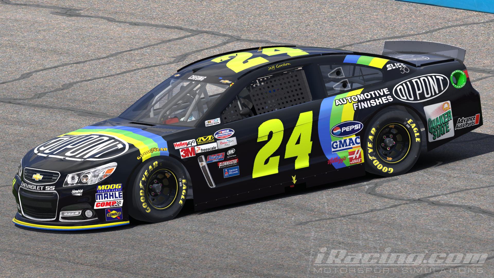 Dupont NASCAR # 24 Jeff Gordon Playing Cards Collector Tin 2 Decks ...