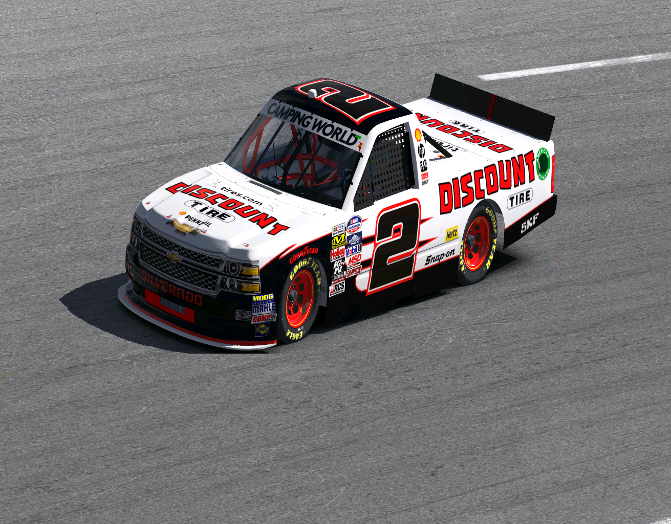 Preview of Discount Tire Silverado by Todd Ressler