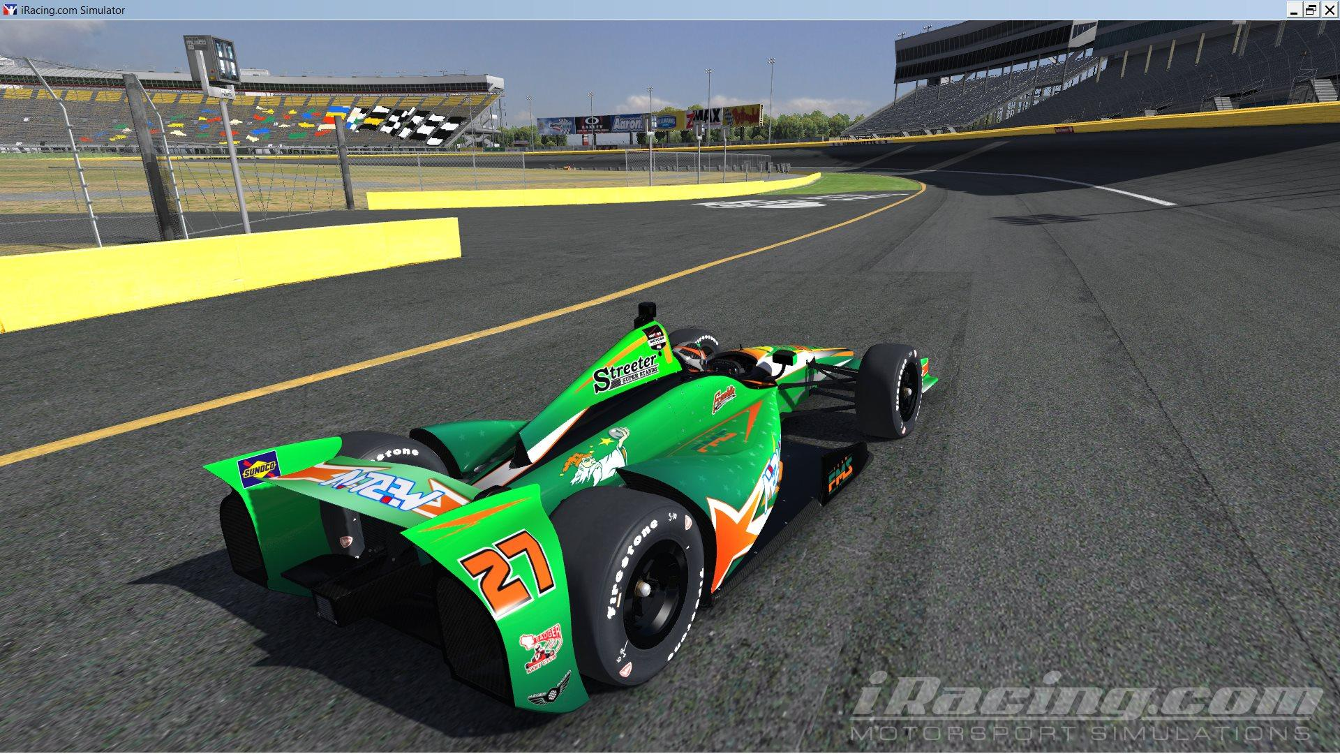 Merlin Karting Dw12 By Nicholas Orth Trading Paints