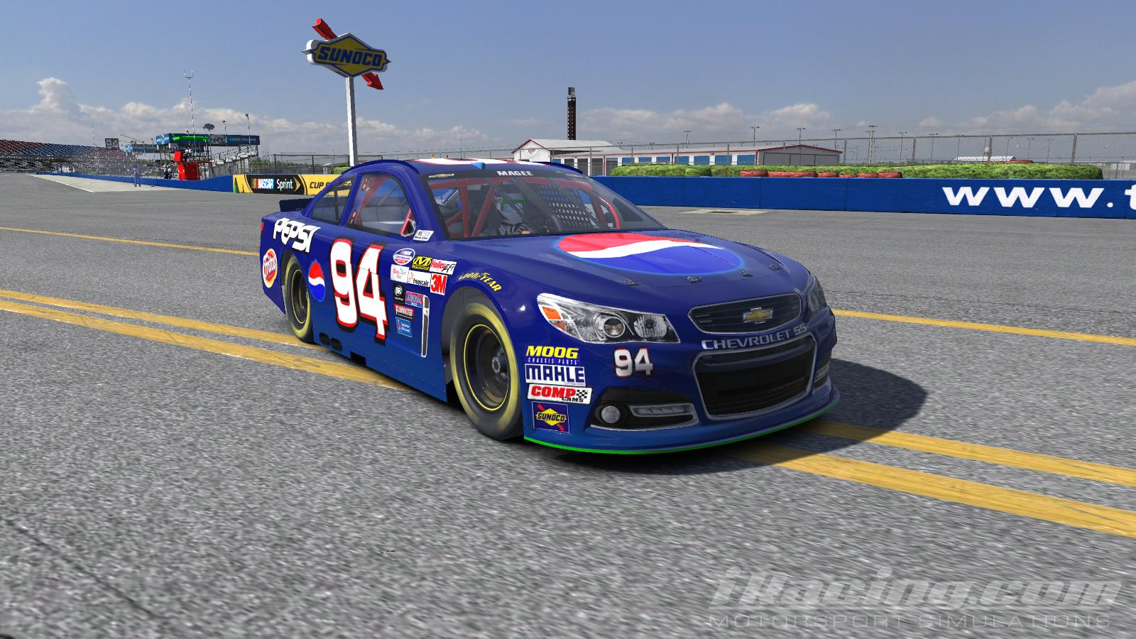 1999 Jeff Gordon Pepsi Busch Series NASCAR Monster Energy Cup Chevrolet SS By Brennan MaGee