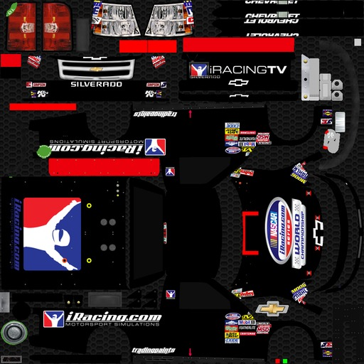 IRacing Chevy Truck by Carl Blackmore - Trading Paints