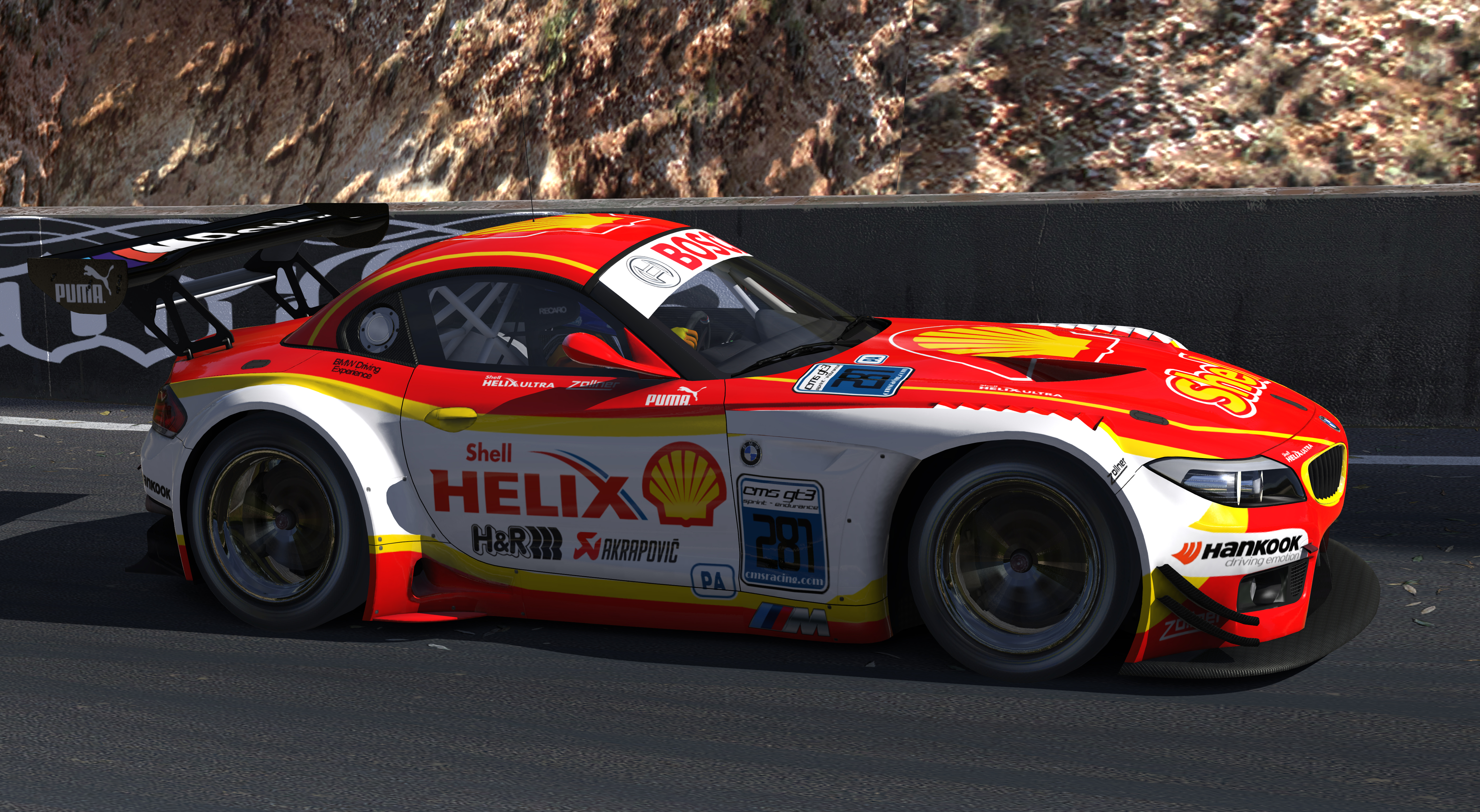 Shell Helix Bmw Z4 Gt3 By Warren Mcgary Trading Paints