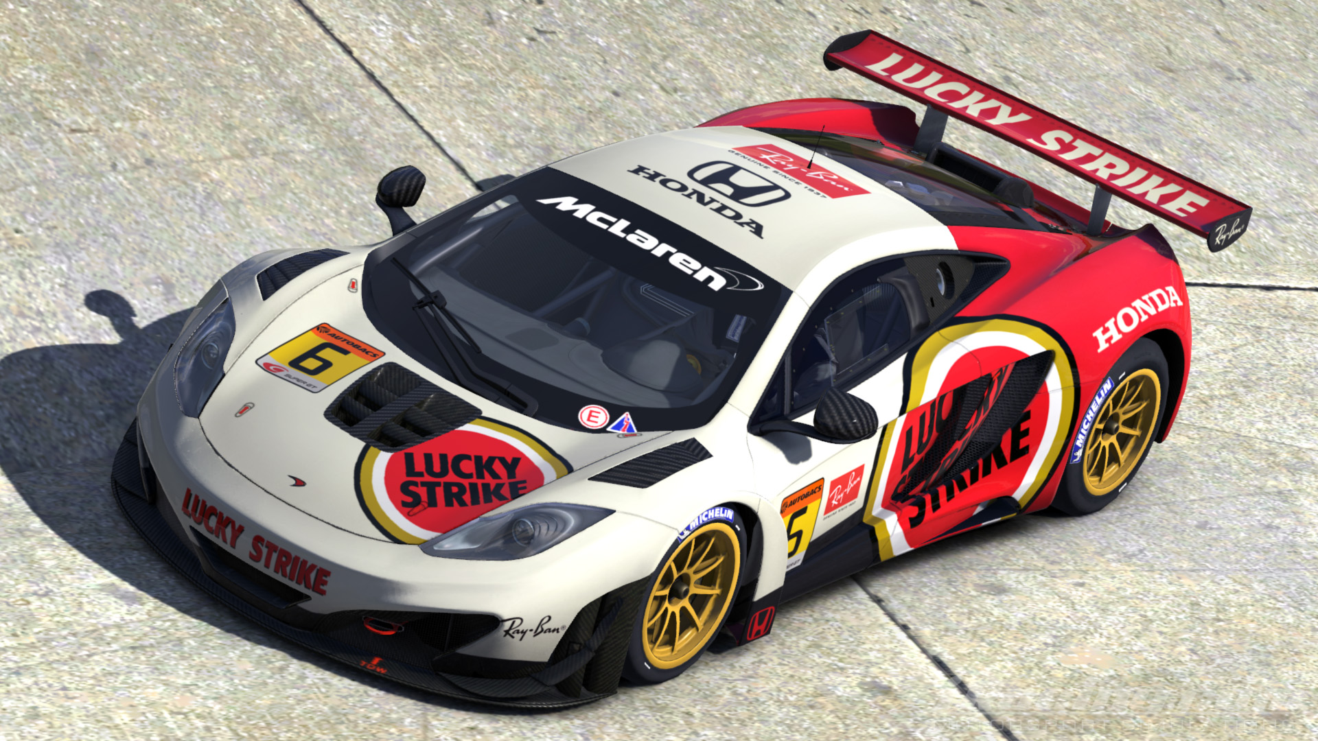 Preview of Mclaren MP4 LUCKY STRIKE by Justin S Davis