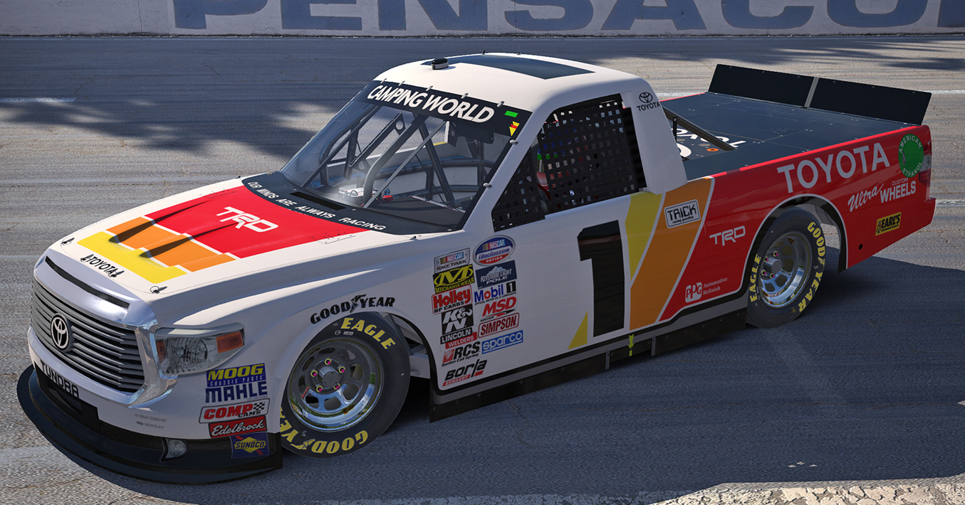 ivan stewart style toyota tundra by sam dobie trading paints. Black Bedroom Furniture Sets. Home Design Ideas