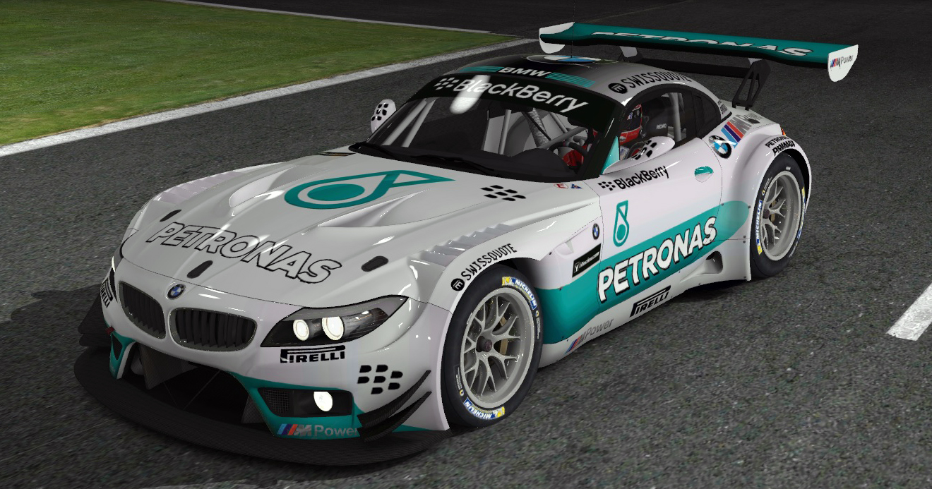 Petronas F1 Style By Mitja M Trading Paints