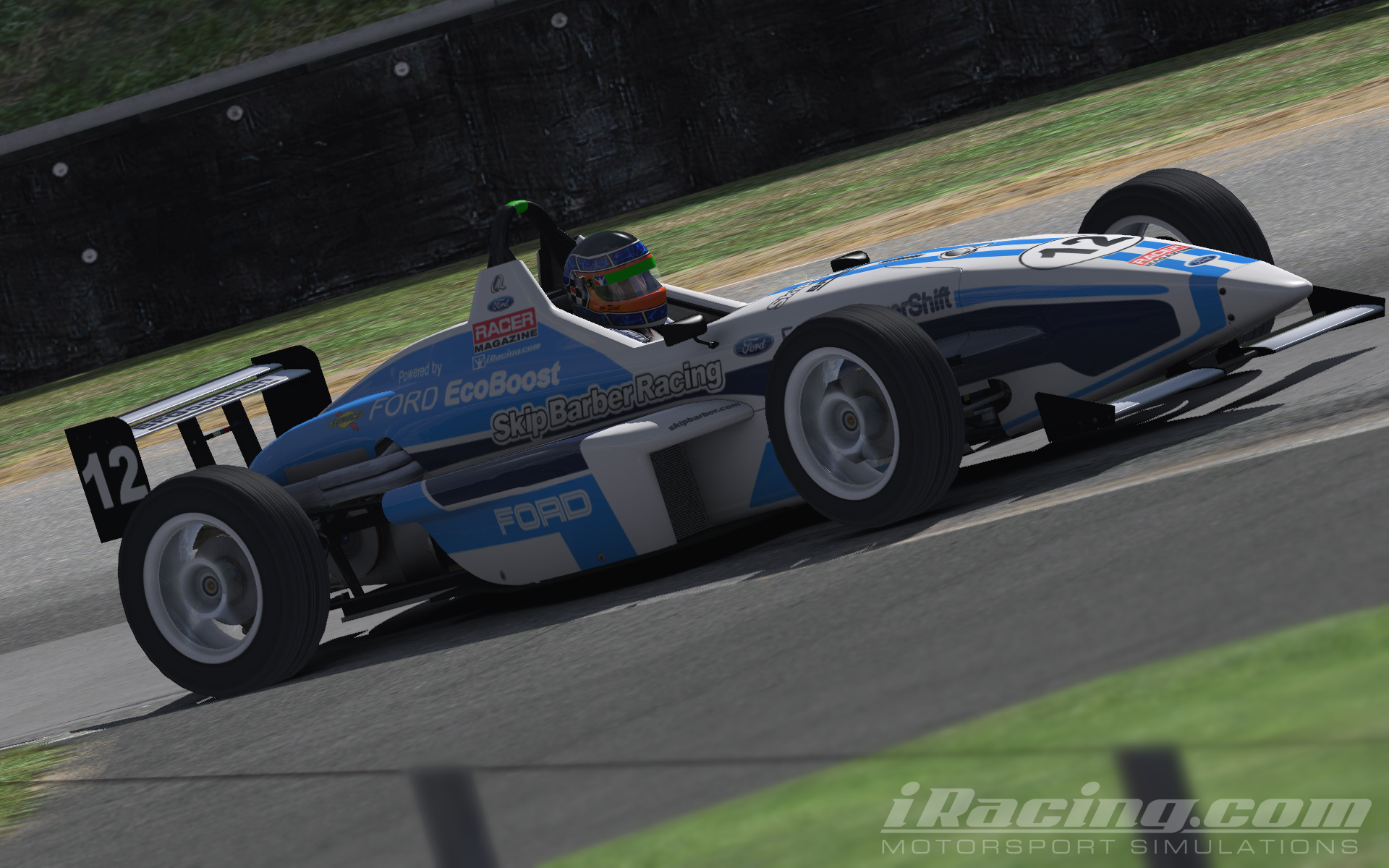 Ford Ecoboost Skip Barber by David ter Stal Trading Paints