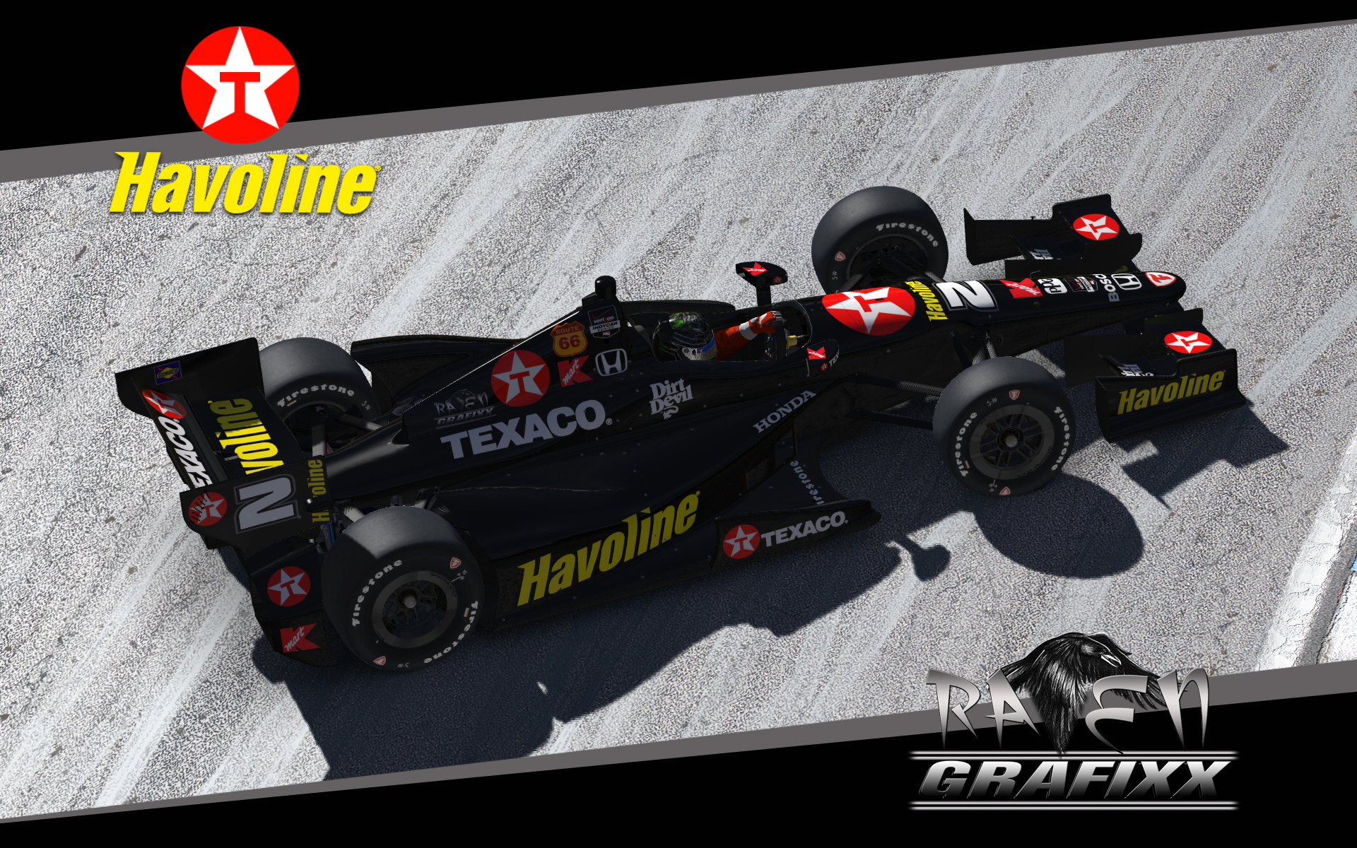 Preview of 2016 Texaco Havoline Dallara DW12 by Doyle Lowrance