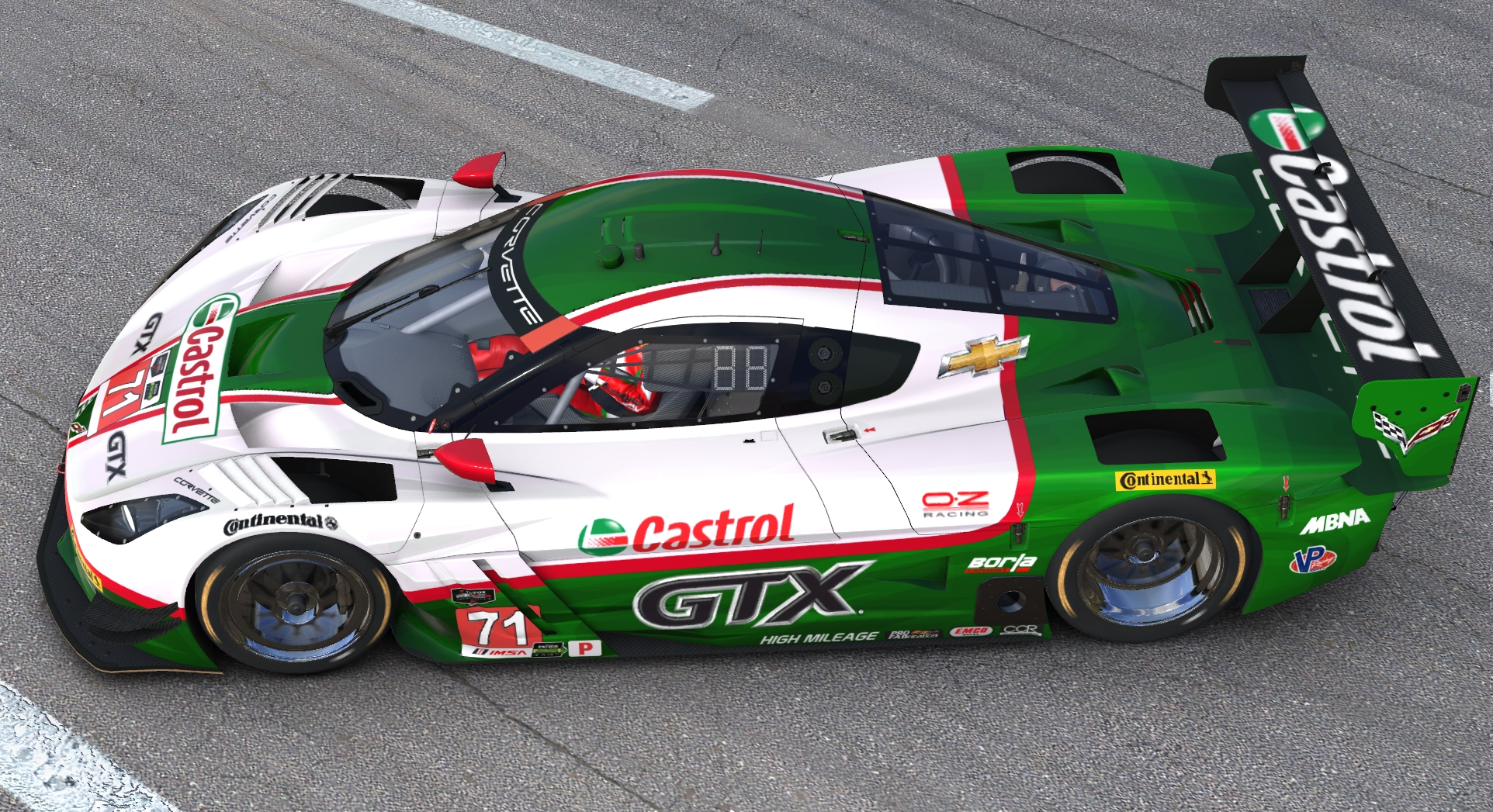Preview of Castrol C7R DP by John Paquin