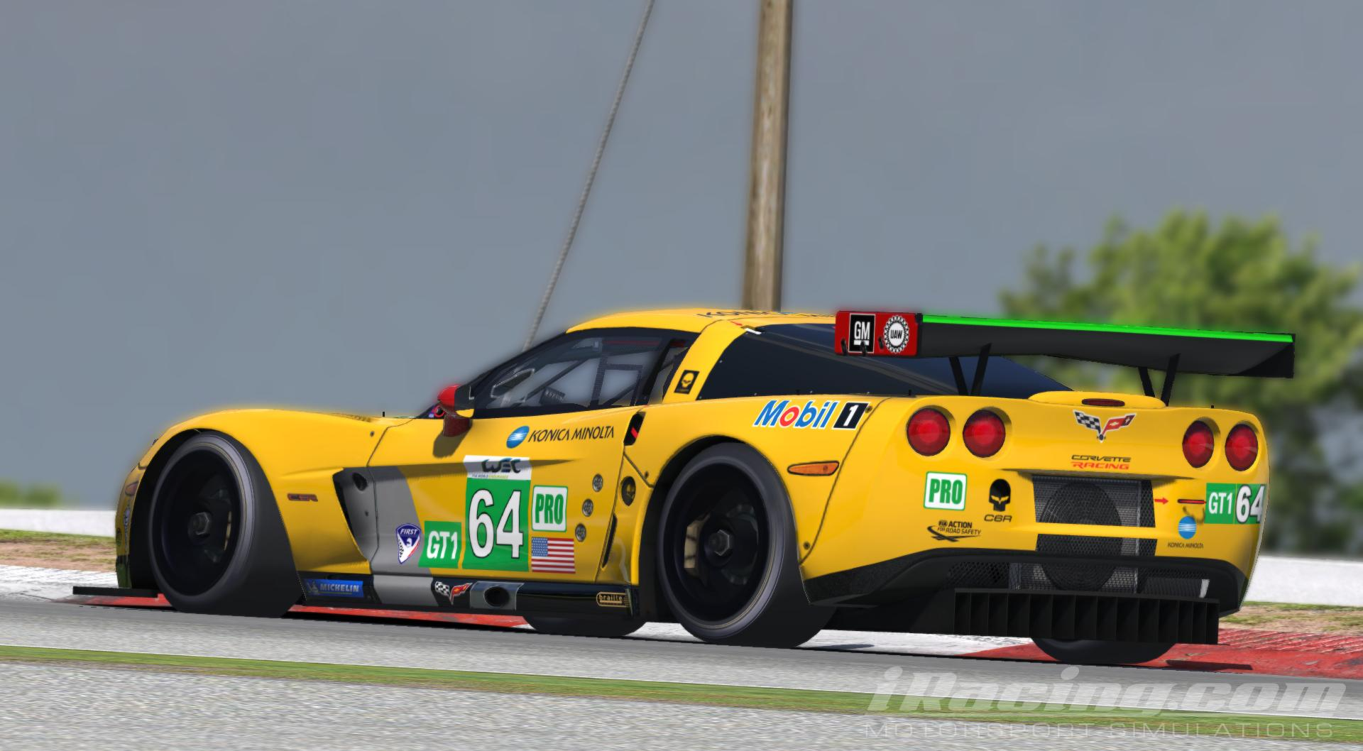 Preview of Corvette Racing 2015 Le mans winning livery. by Mika Eshuis
