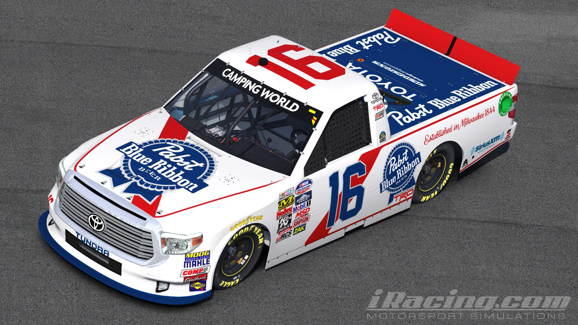 Pabst Blue Ribbon Toyota Tundra by Rens Broekman - Trading ...