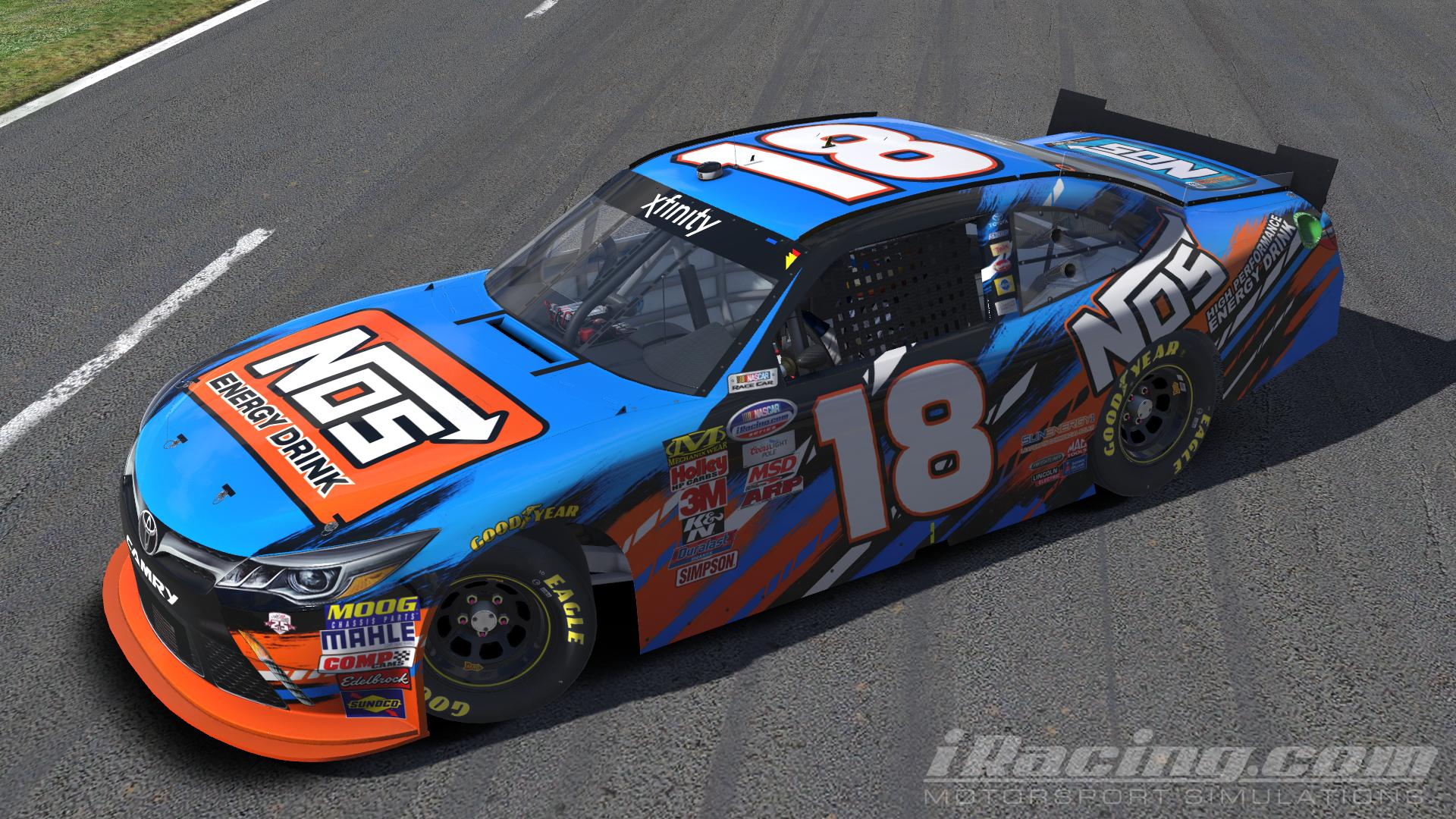 Nos Car: 2016 Kyle Busch NOS Energy Drink By Jacob Fisher