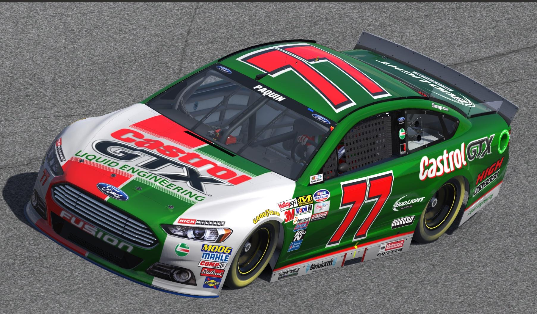 Custom Ford Fusion >> Castrol Ford Fusion.tga by John Paquin - Trading Paints