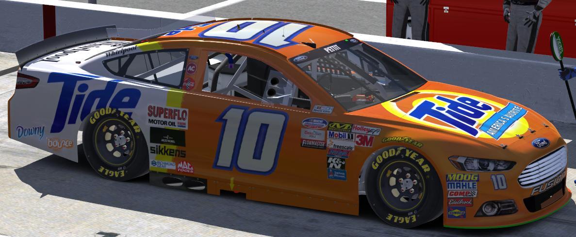 Nascar Race Cars >> Ricky Rudd Tide by Steven Pettit - Trading Paints