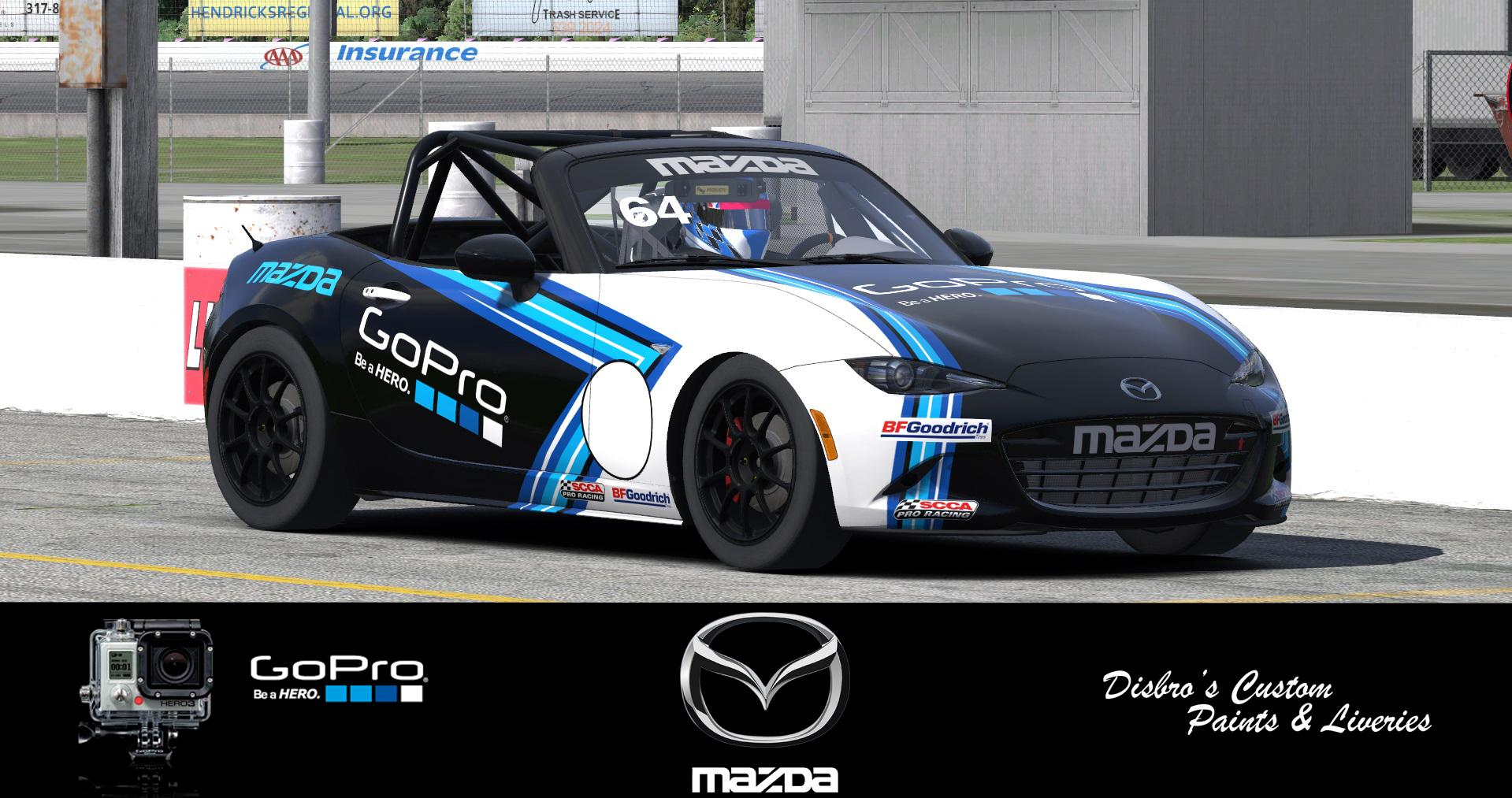 Preview of GoPro MX-5 Global Cup Car by Sean Disbro2