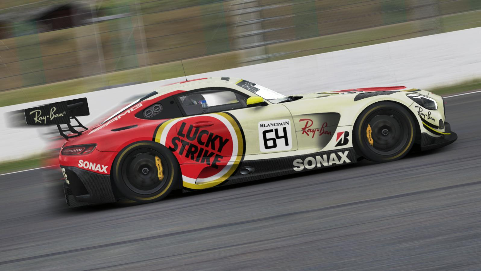 Preview of Mercedes Benz AMG GT3 LUCKY STRIKE by Justin S Davis
