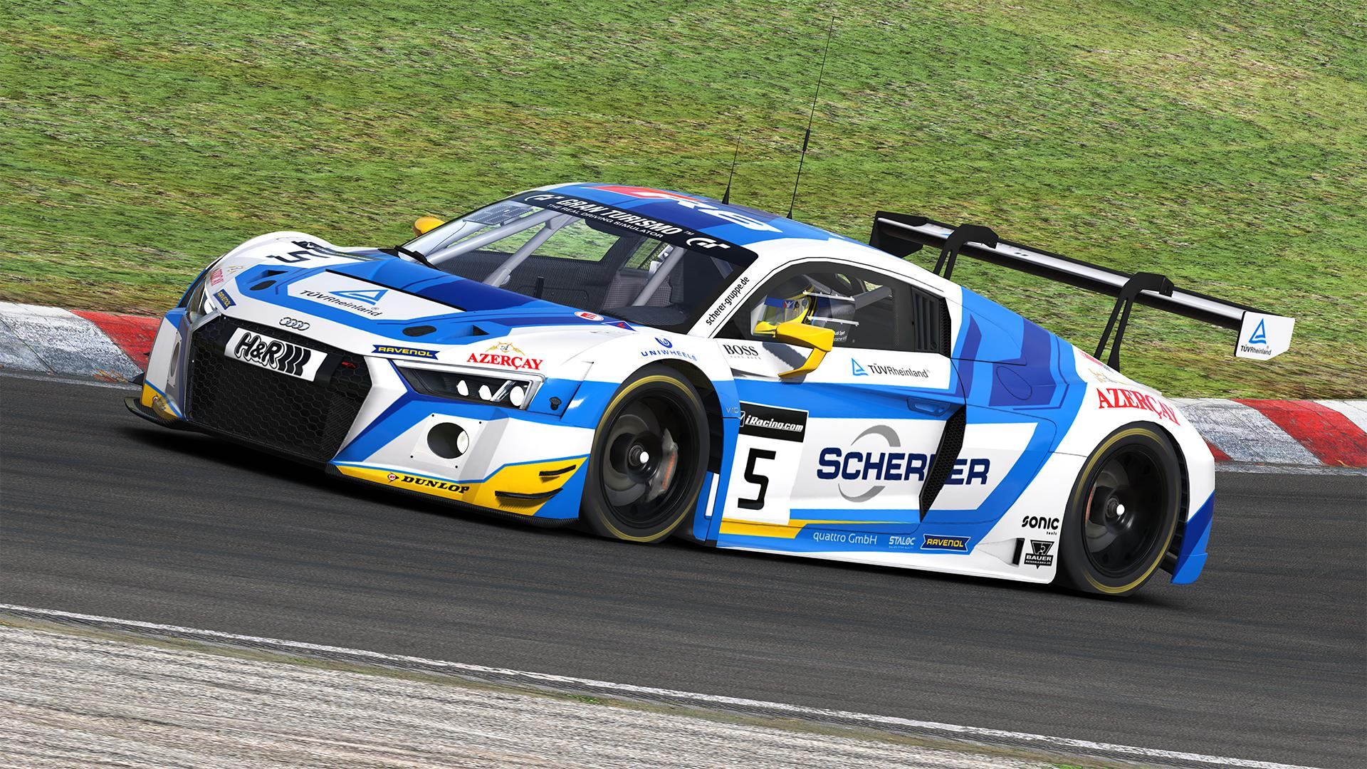 Phoenix Racing VLN By Jann Dircks Trading Paints - Audi phoenix