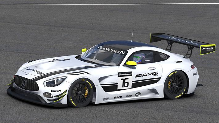 Preview of Mercedes AMG GT3 by Matthew Nethercote