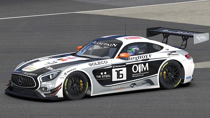 Preview of KRK Racing Mercedes Benz AMG GT3 by Matthew Nethercote