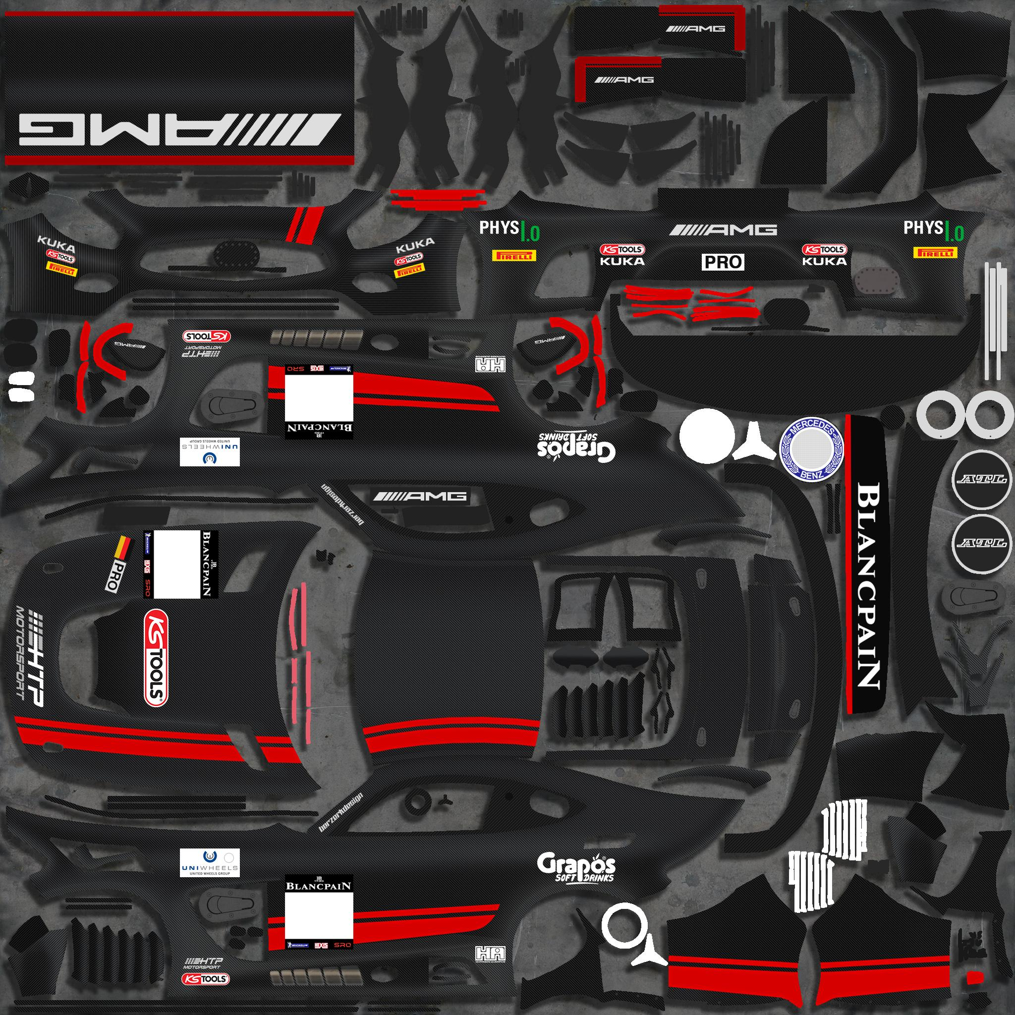 Preview of #84 HTP Motorsport (2016 Blancpain GT) by Justin S Davis
