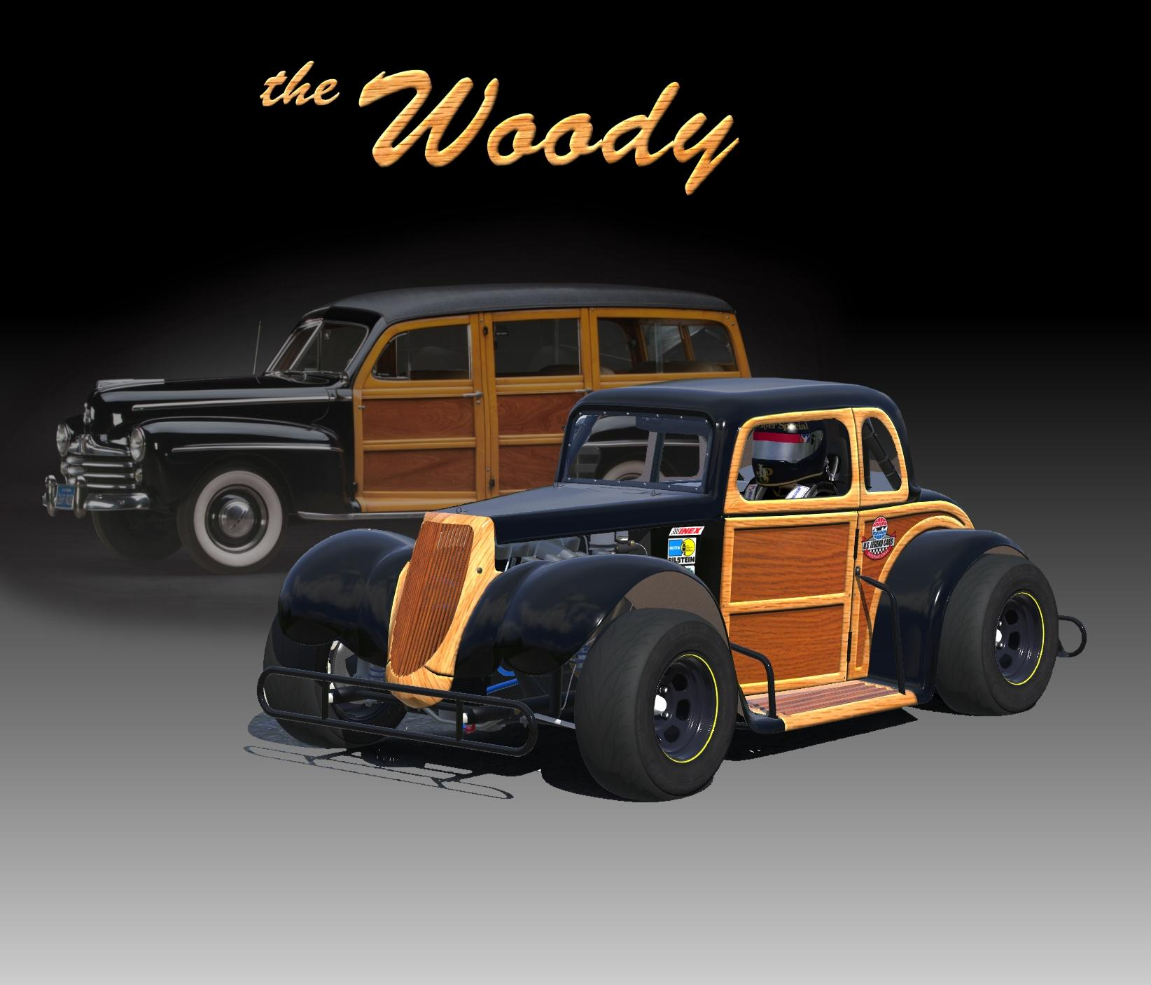 Preview of Legends woody by Don Craig
