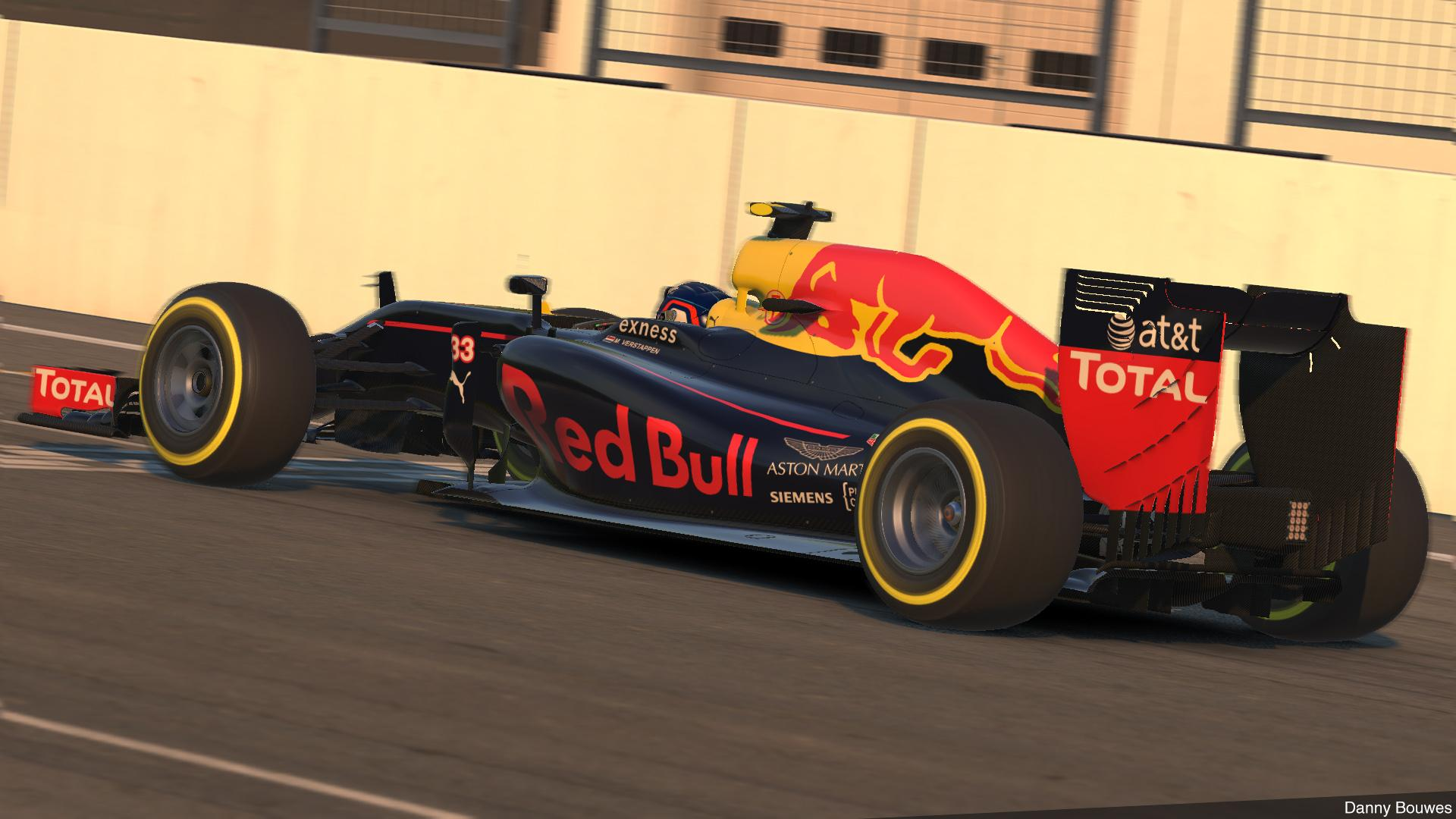 Preview of Red Bull Racing RB12 2016 - #33 Verstappen by Danny Bouwes