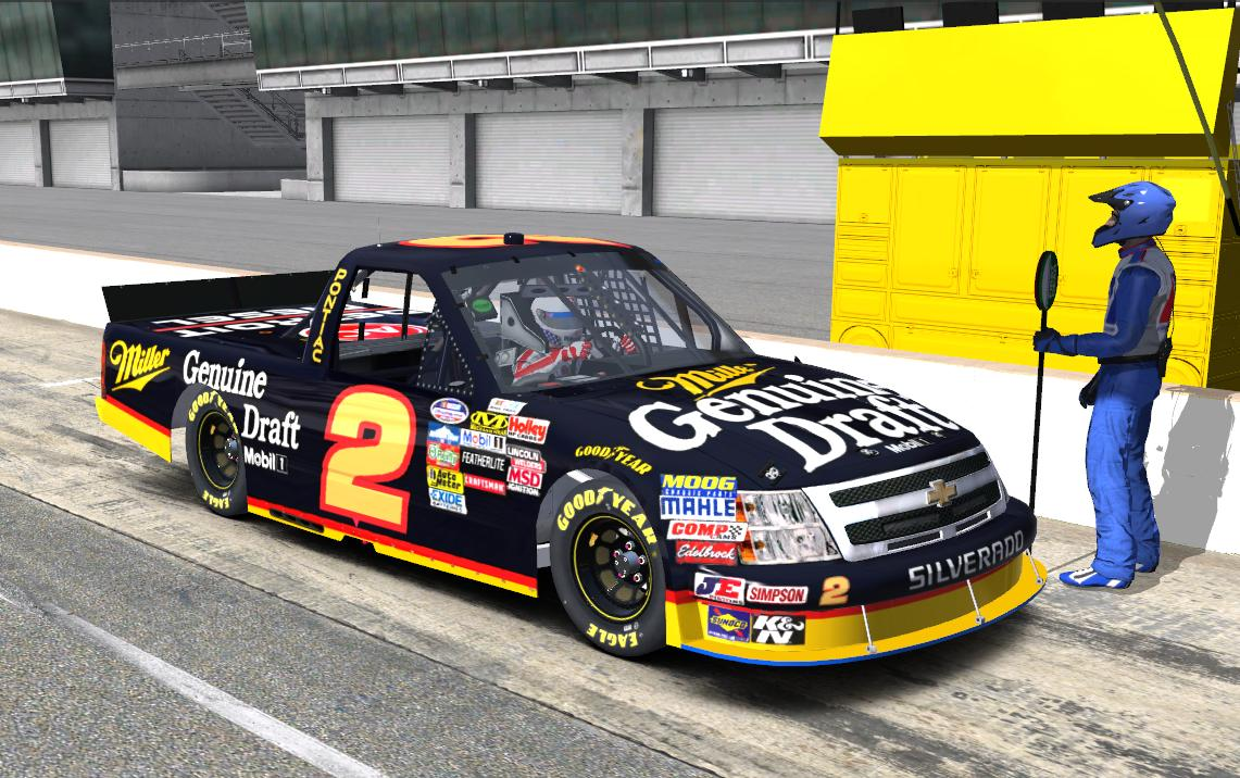 1991 Rusty Wallace Miller Genuine Draft Replica Chevrolet