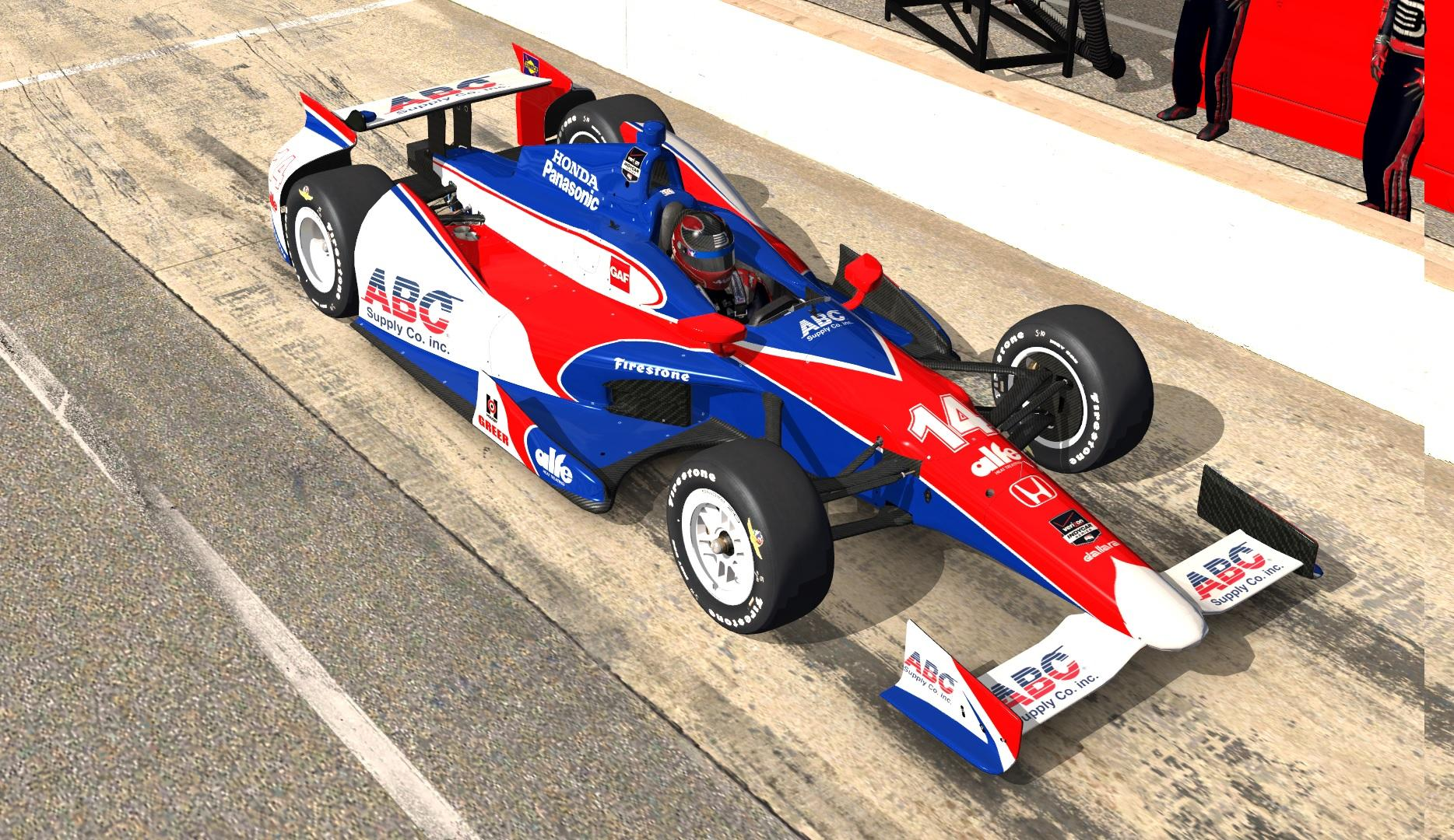 aj foyt racing takuma sato by shigeru ogawa trading paints