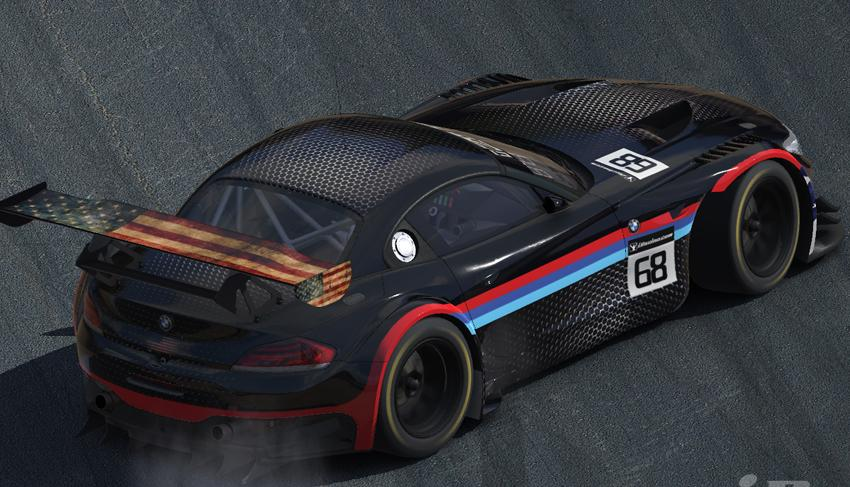 Bmw Team America Usa By Georgeo Hieblinger Trading Paints