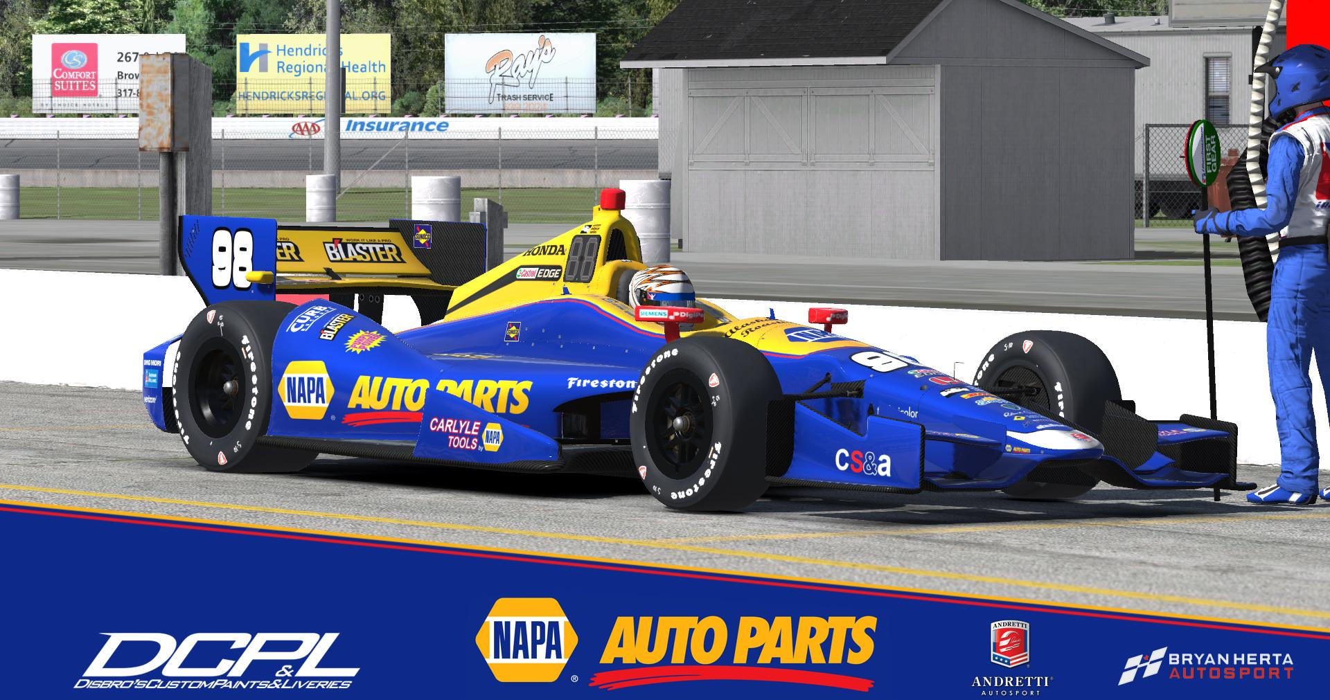 Preview of Alexander Rossi NAPA DW12  by Sean Disbro2