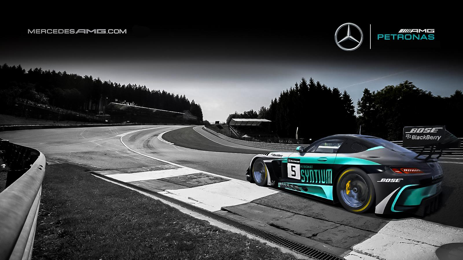 Mercedes amg petronas f1 team wallpaper