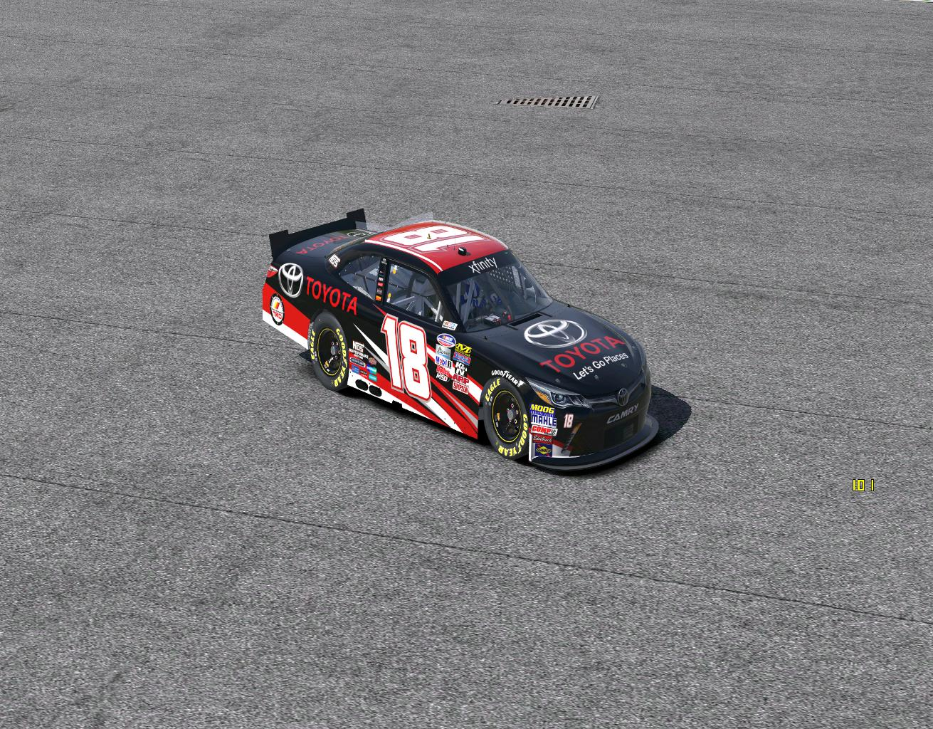 Preview of TRD Xfinity Camry by Todd Ressler