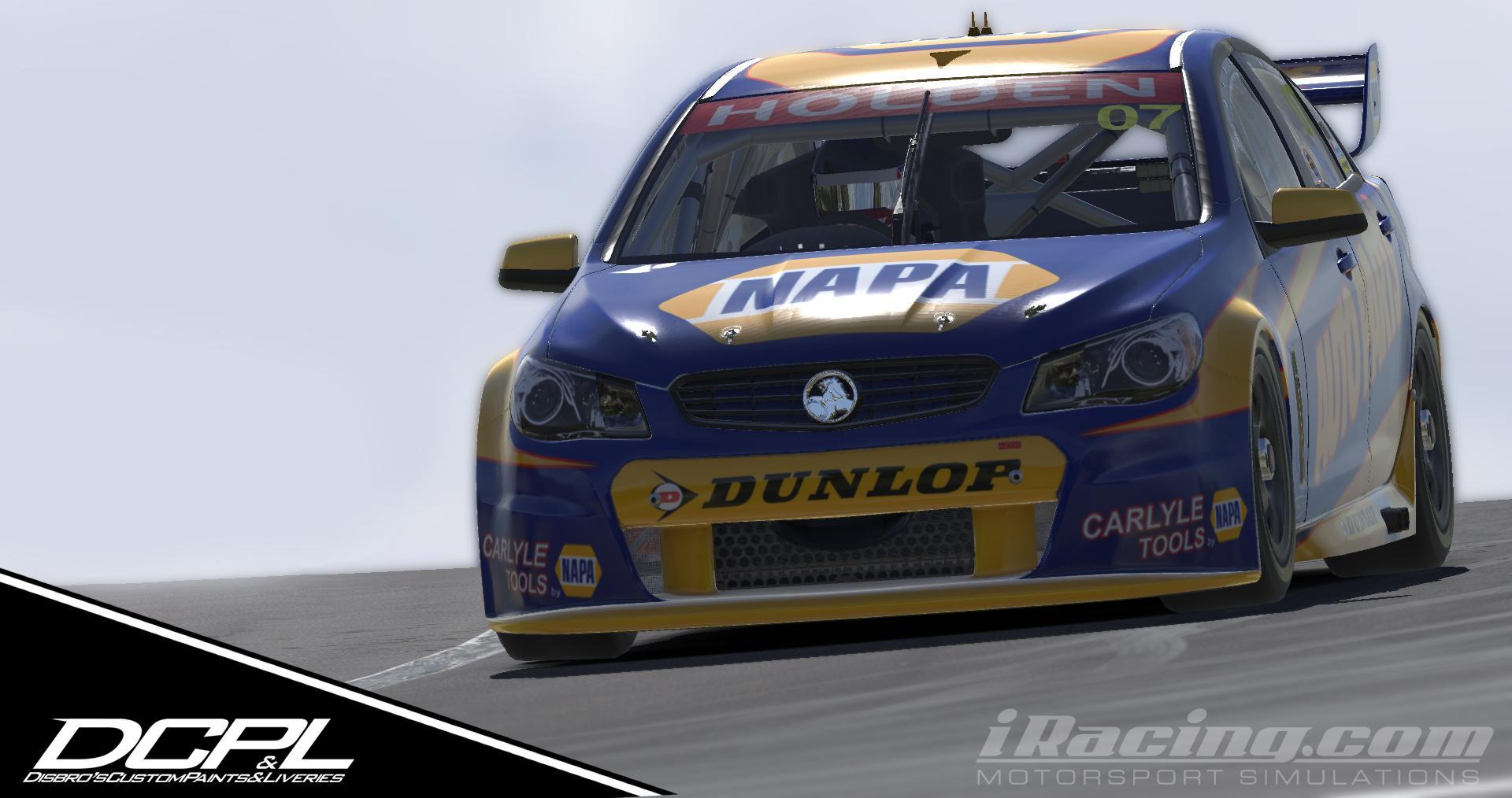 Preview of Napa Auto Parts V8 Commodore by Sean Disbro2
