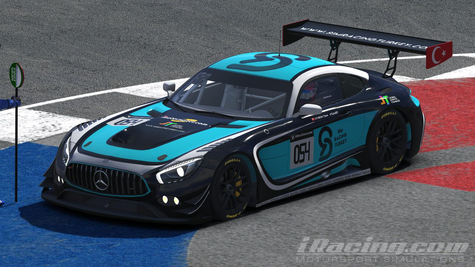 Preview of SimRacingTurkey Special Events Paint by Mertcan Solak