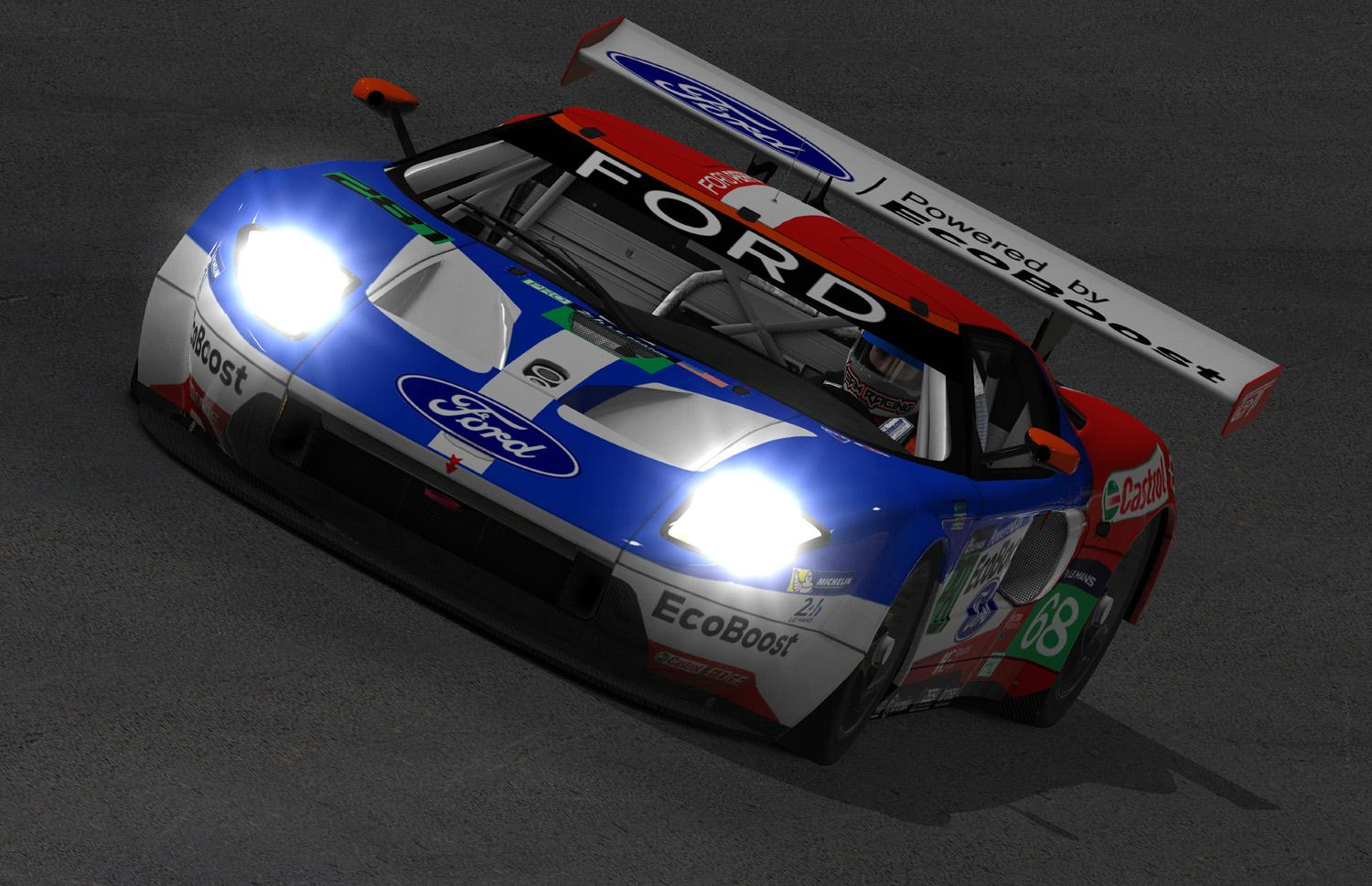 Preview of 2016 #68 24 Hours of Le Mans - GTE Pro class winning Ford GT GT3 by Warren McGary
