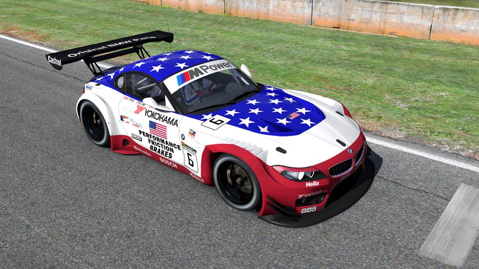 2001 Bmw M3 Gtr Stars And Stripes By Kevin Browne Trading Paints